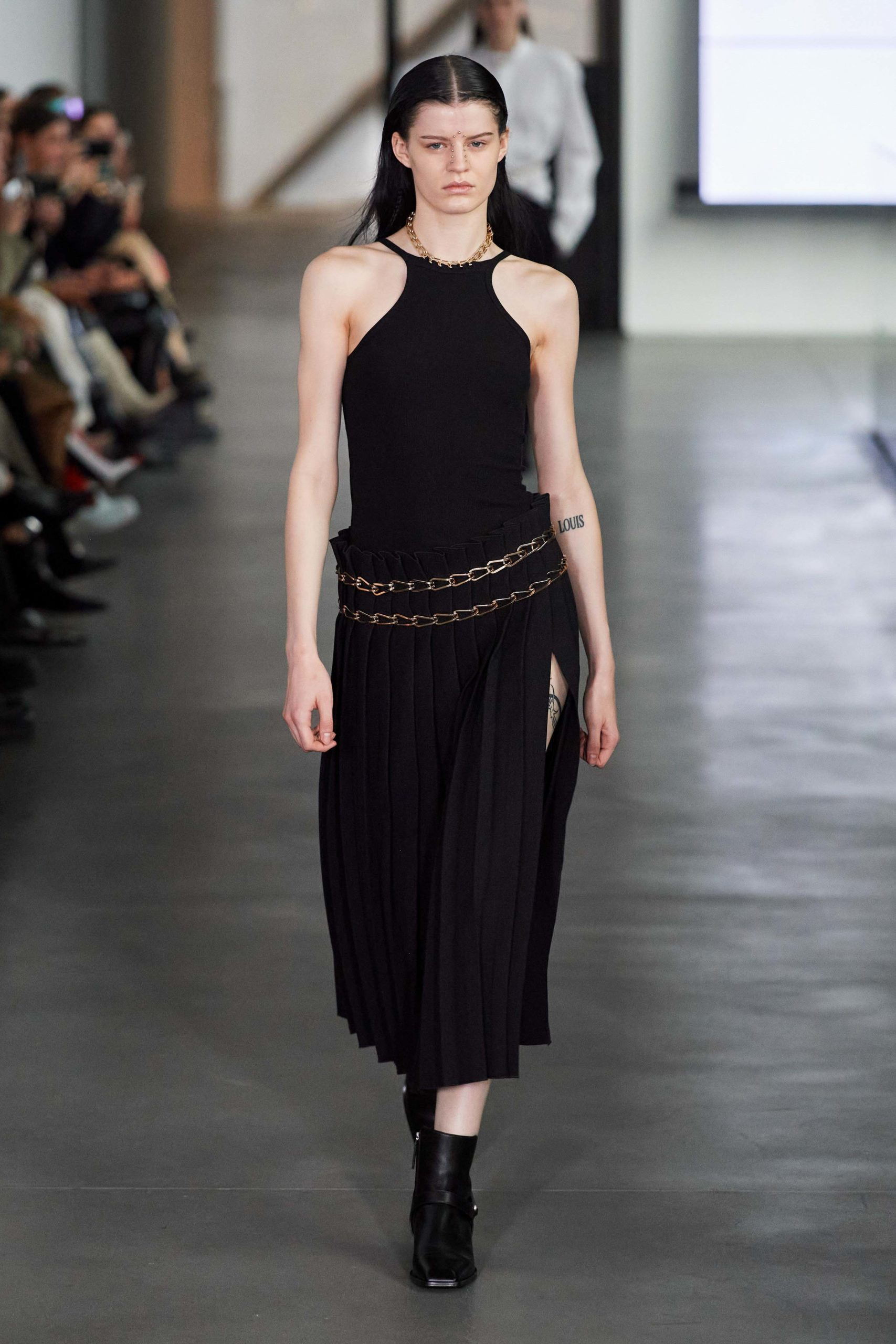 Dion Lee Fall 2020 trends runway report Ready To Wear Vogue shoulder and skirt
