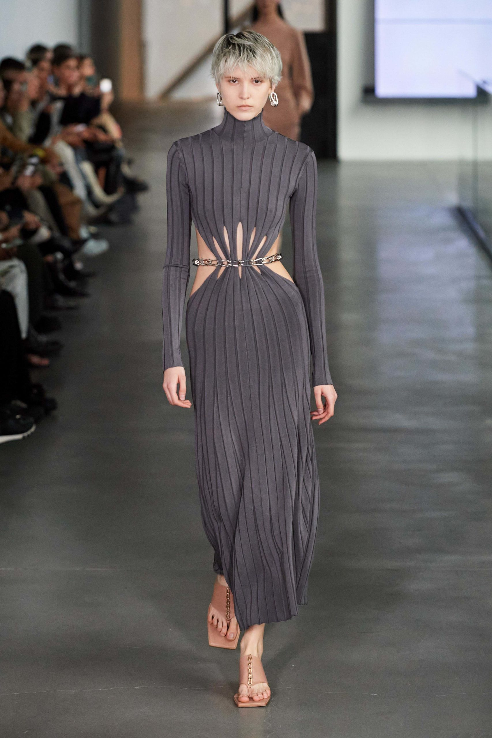 Dion Lee Fall 2020 trends runway report Ready To Wear Vogue belt 2