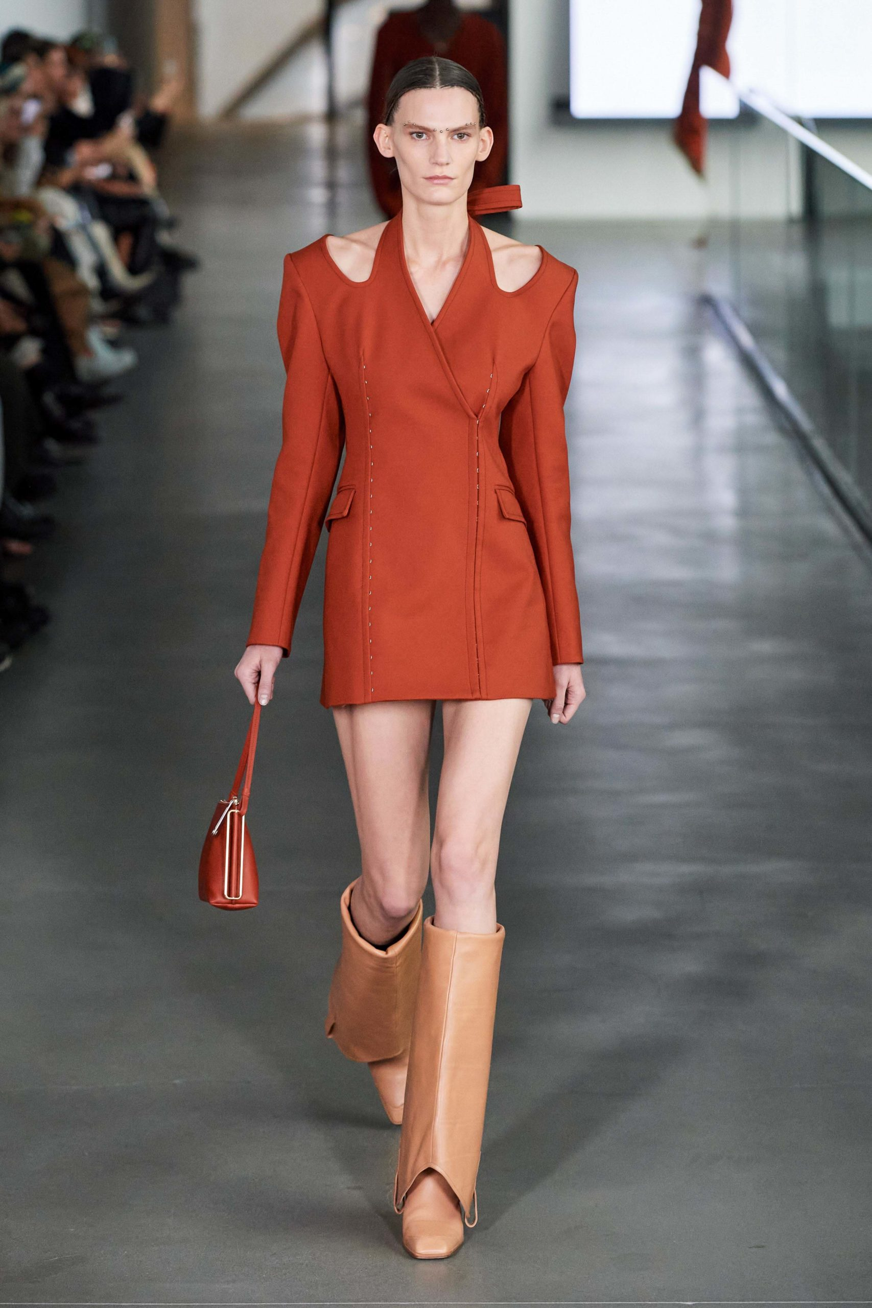 Dion Lee Fall 2020 trends runway report Ready To Wear Vogue cut out shoulder