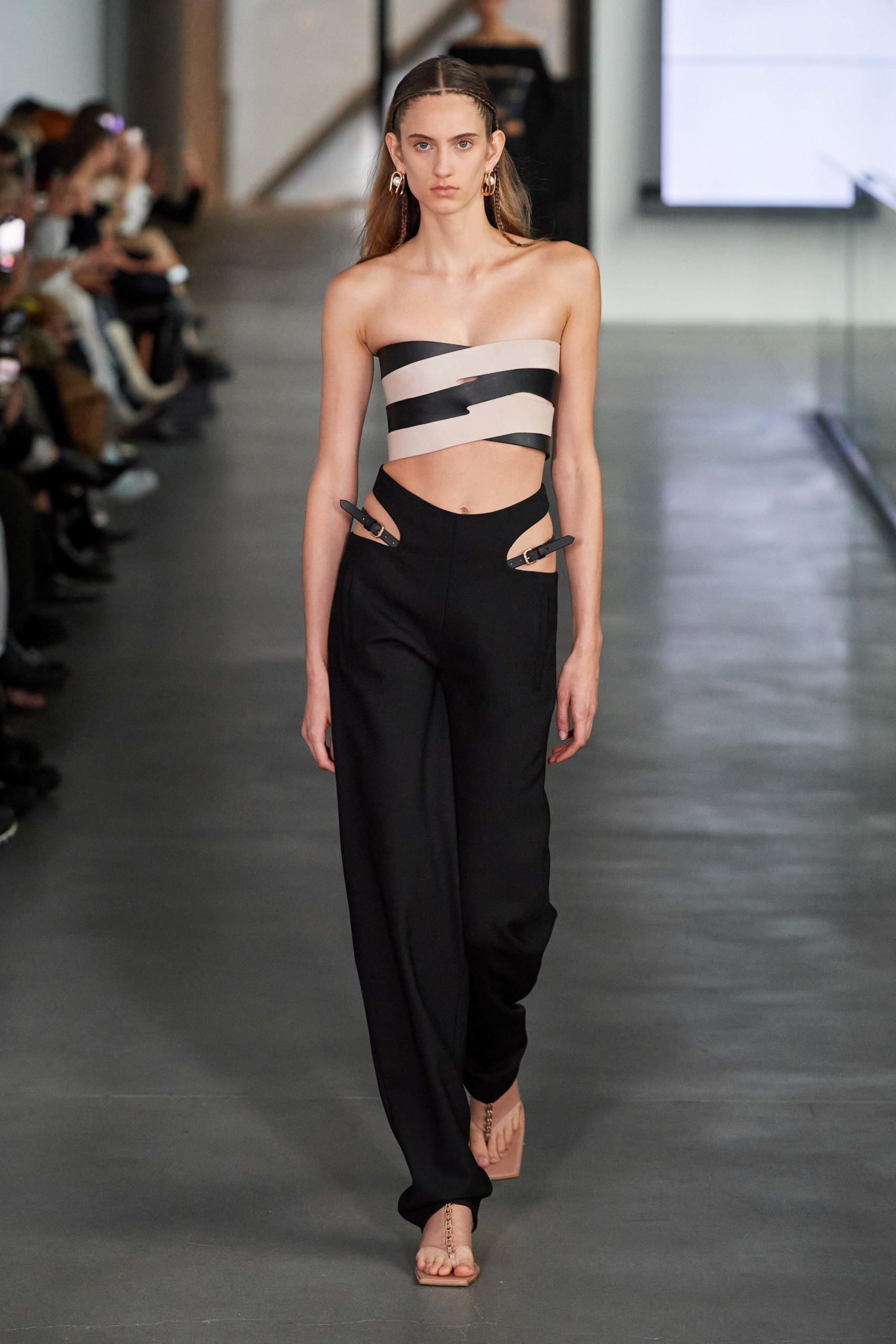 Dion Lee Fall 2020 trends runway report Ready To Wear Vogue pants cut out