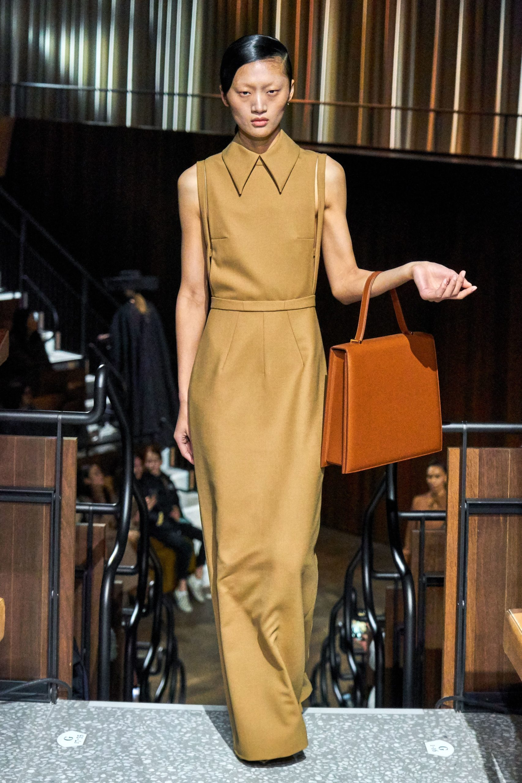 Emilia Wickstead Fall 2020 trends runway report Ready To Wear Vogue brown monochrome