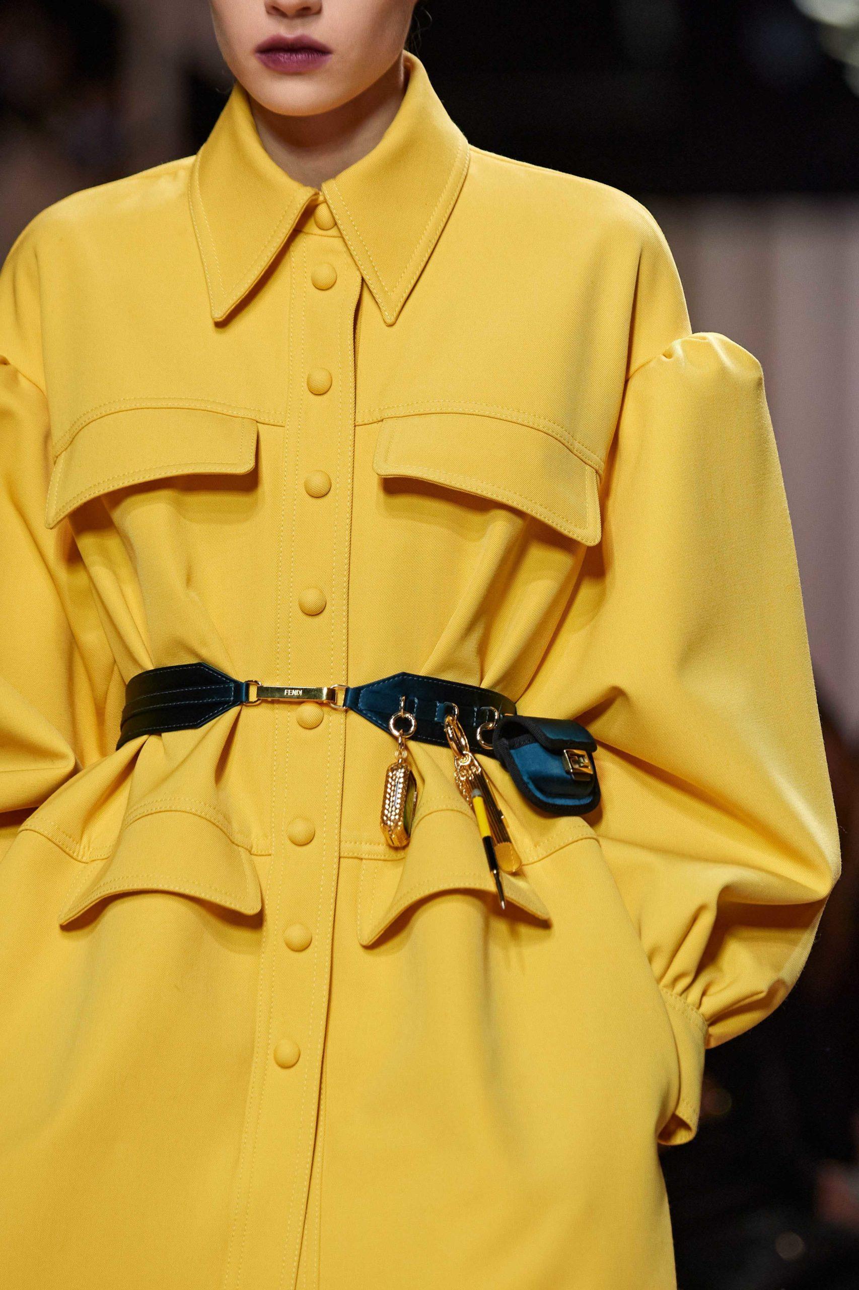 Fendi Fall 2020 trends runway report Ready To Wear Vogue Ceinture best fall 2020 details