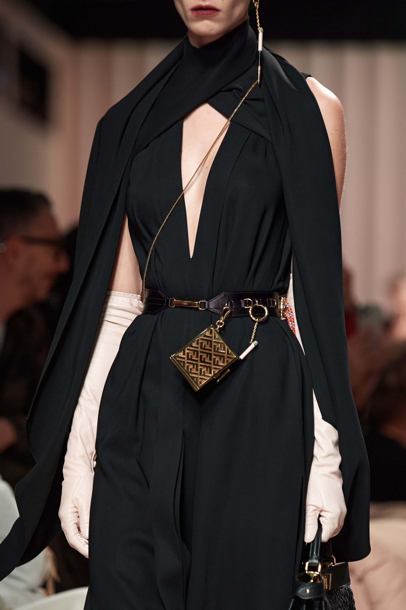 Fendi Fall 2020 trends runway report Ready To Wear Vogue belt