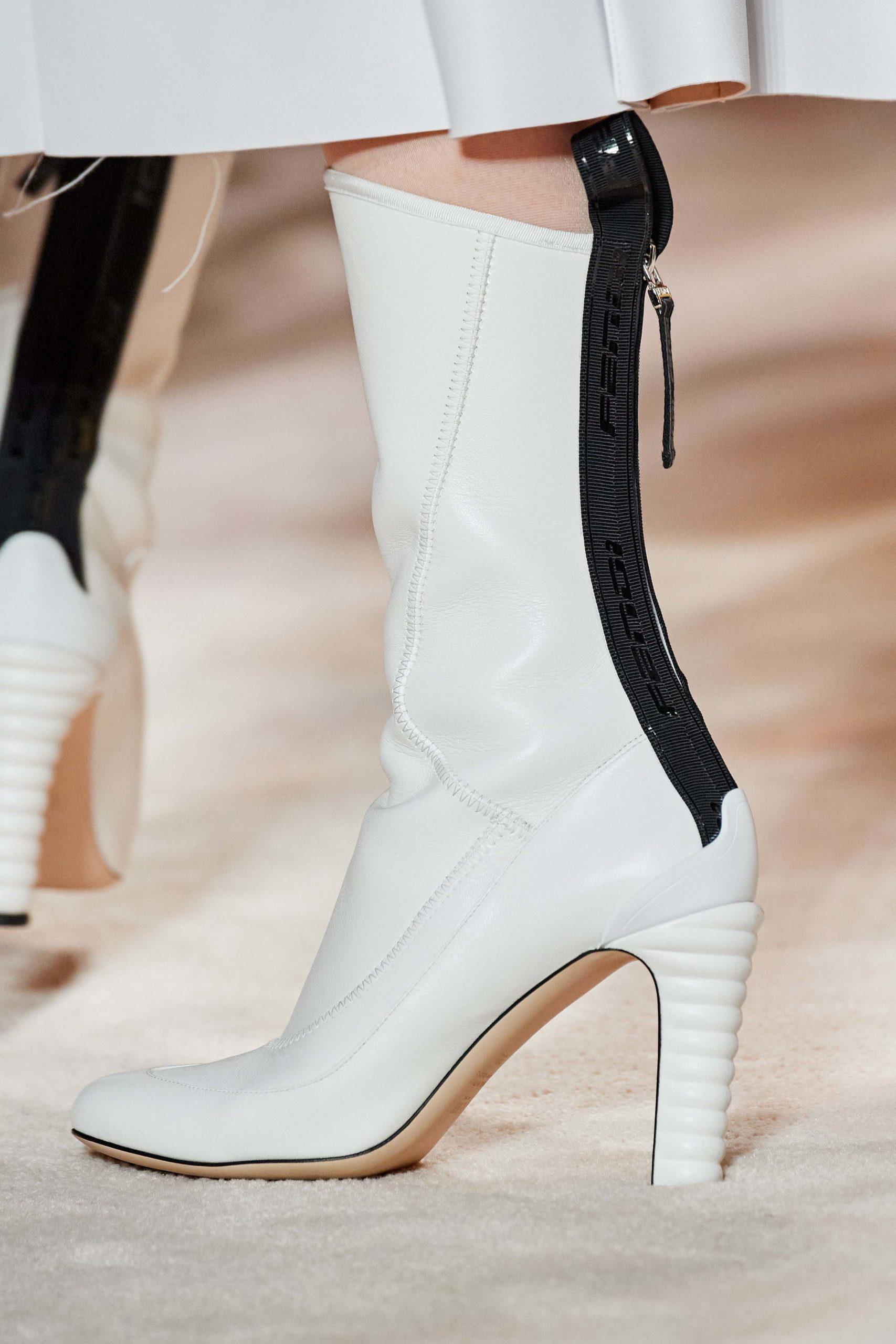 Fendi Fall 2020 trends runway report Ready To Wear Vogue fendi boots