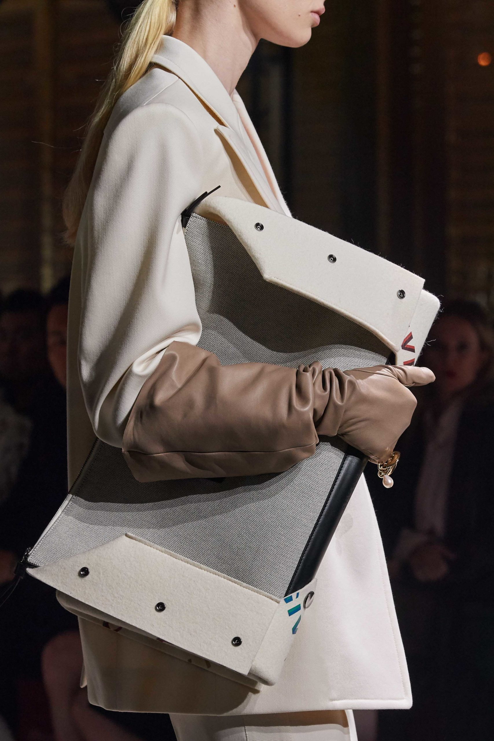 Givenchy Fall 2020 trends runway coverage Ready To Wear Vogue big clutch