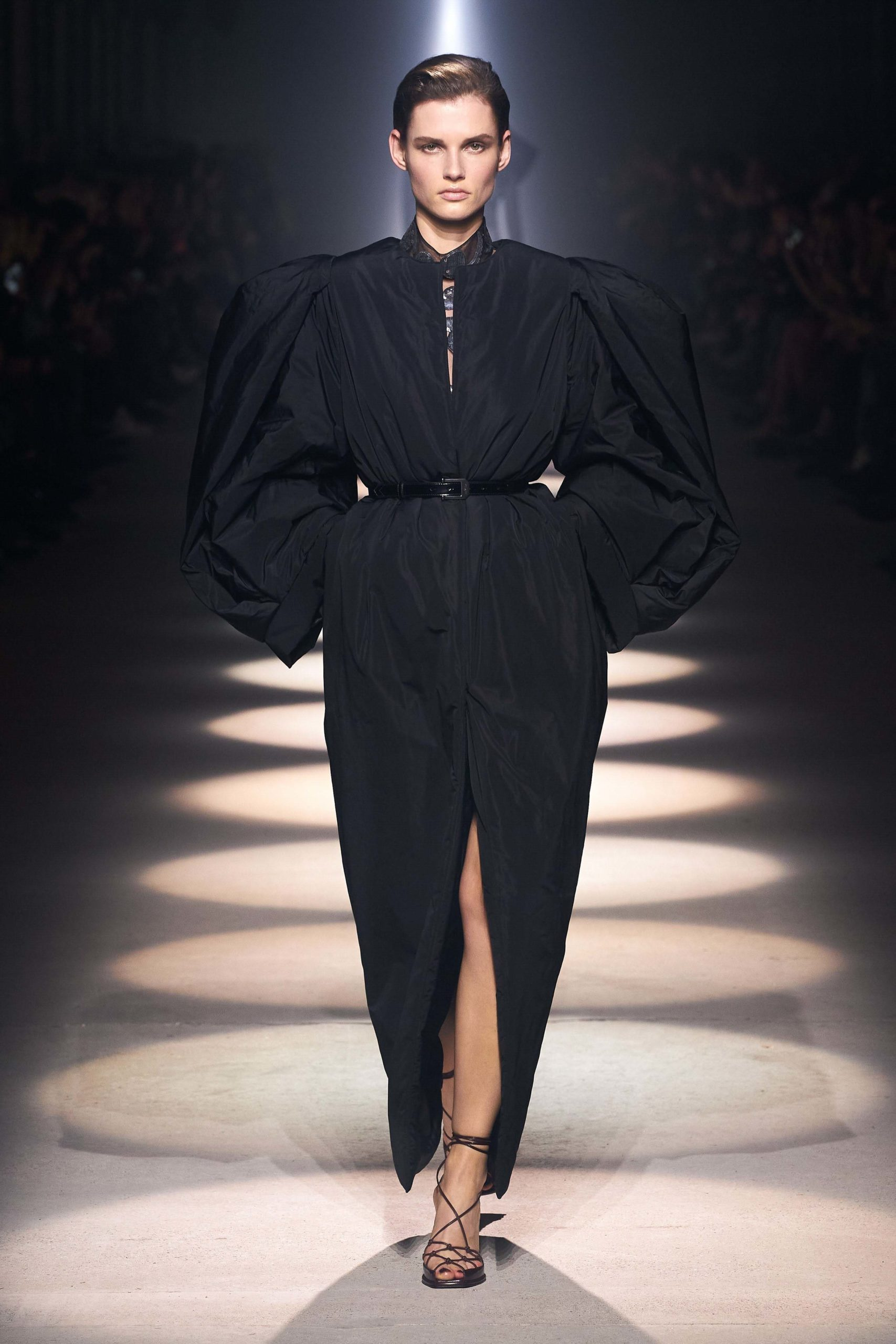 Givenchy Fall 2020 trends runway coverage Ready To Wear Vogue bold shoulder bold sleeves