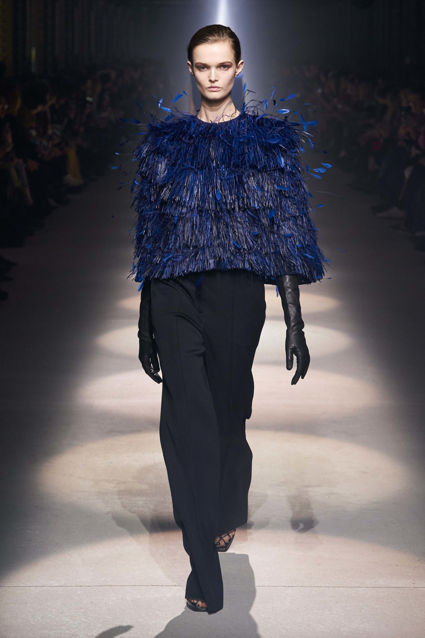 Givenchy Fall 2020 trends runway coverage Ready To Wear Vogue capes with gloves