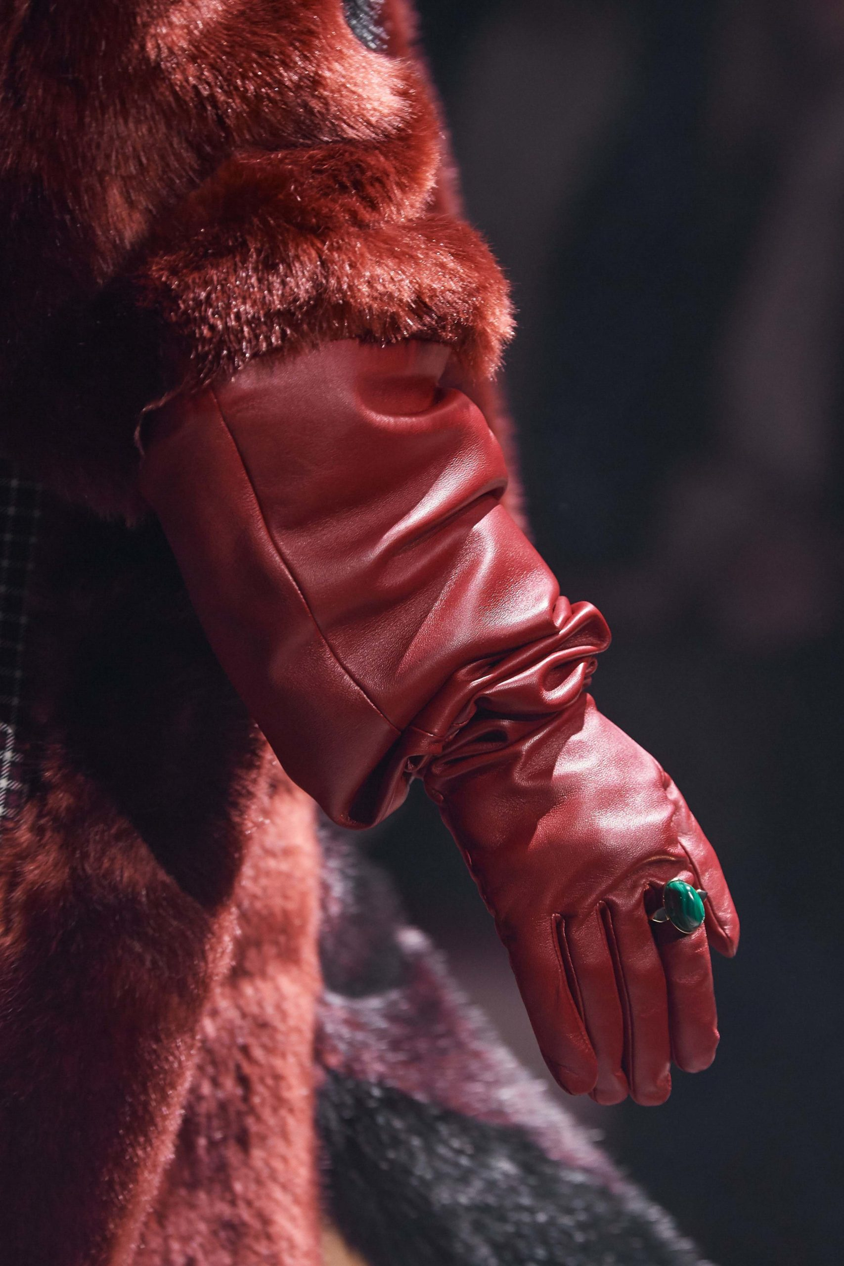 Givenchy Fall 2020 trends runway coverage Ready To Wear Vogue ring and gloves best fall 2020 details