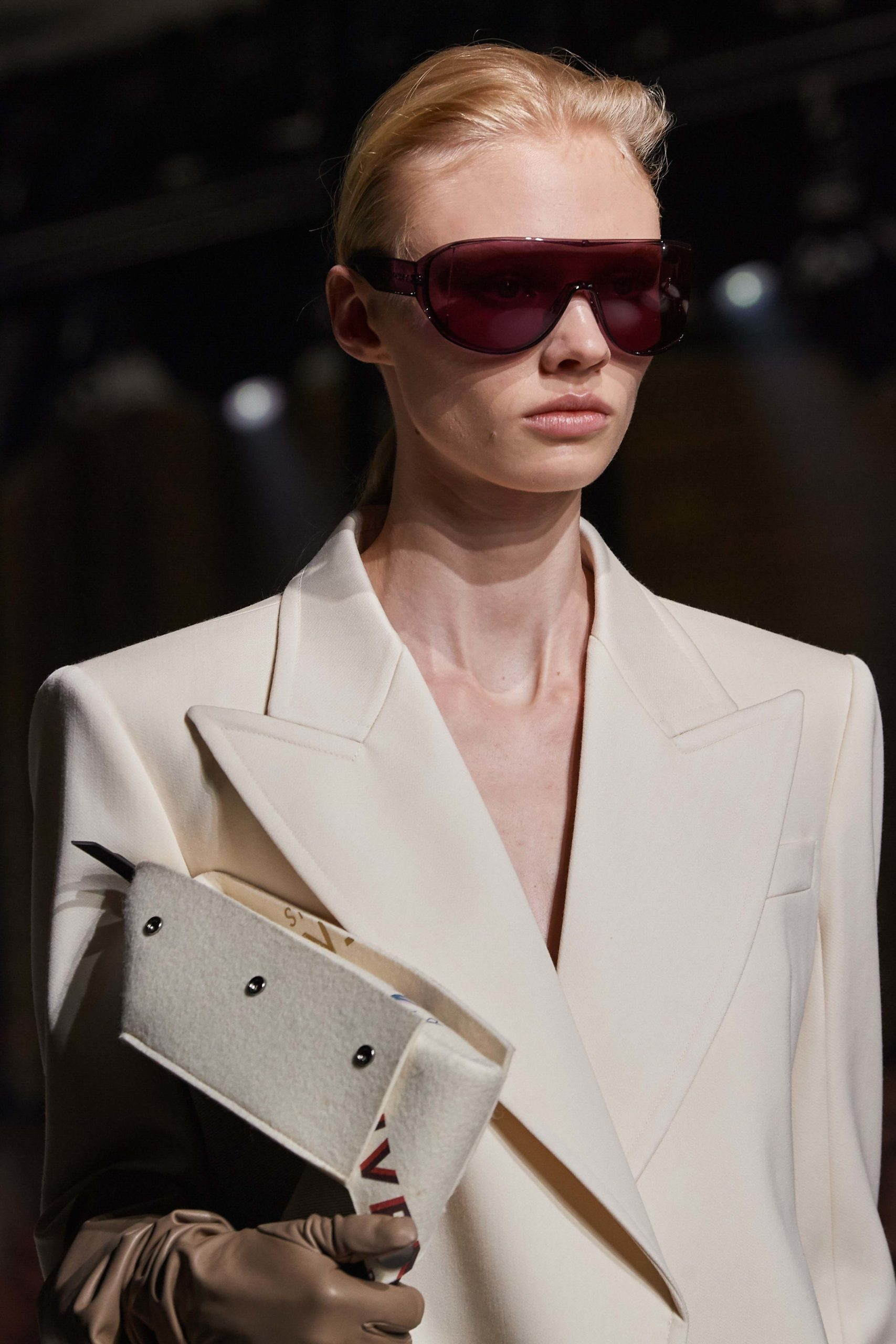Givenchy Fall 2020 trends runway coverage Ready To Wear Vogue sunglasses