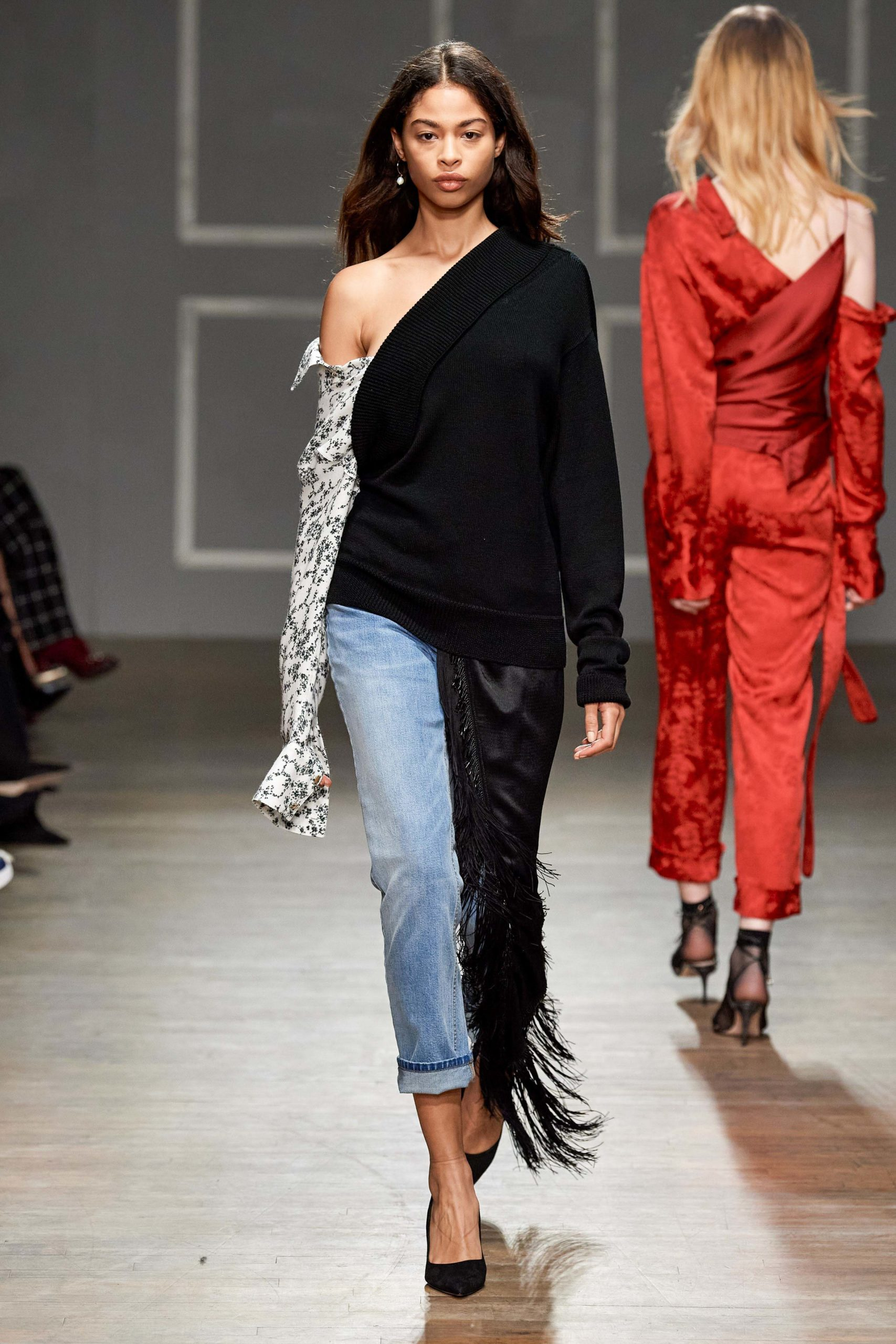 Hellessy Fall 2020 trends runway coverage Ready To Wear Vogue fringe