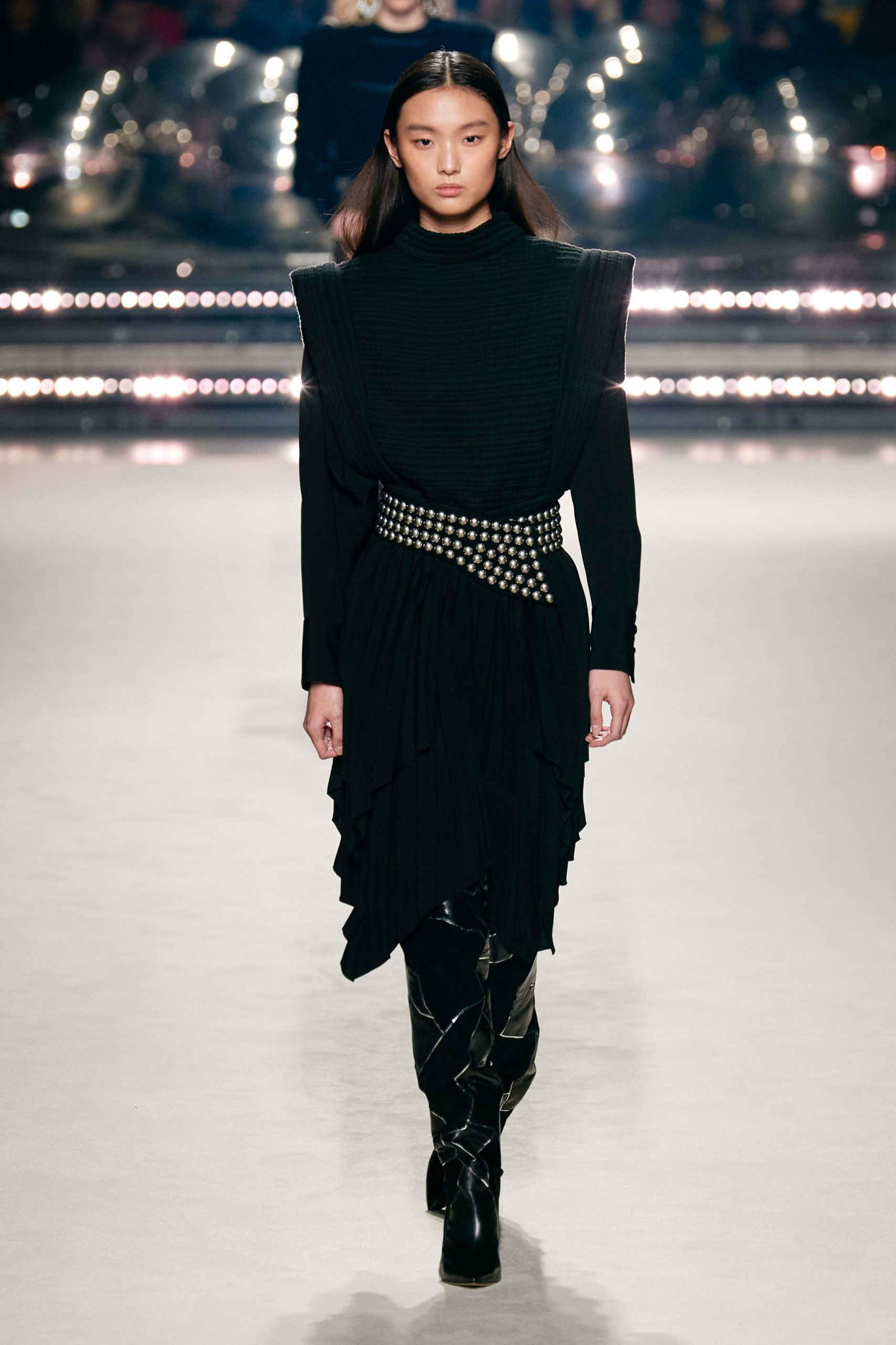 Isabel Marant Fall 2020 trends runway coverage Ready To Wear Vogue belt