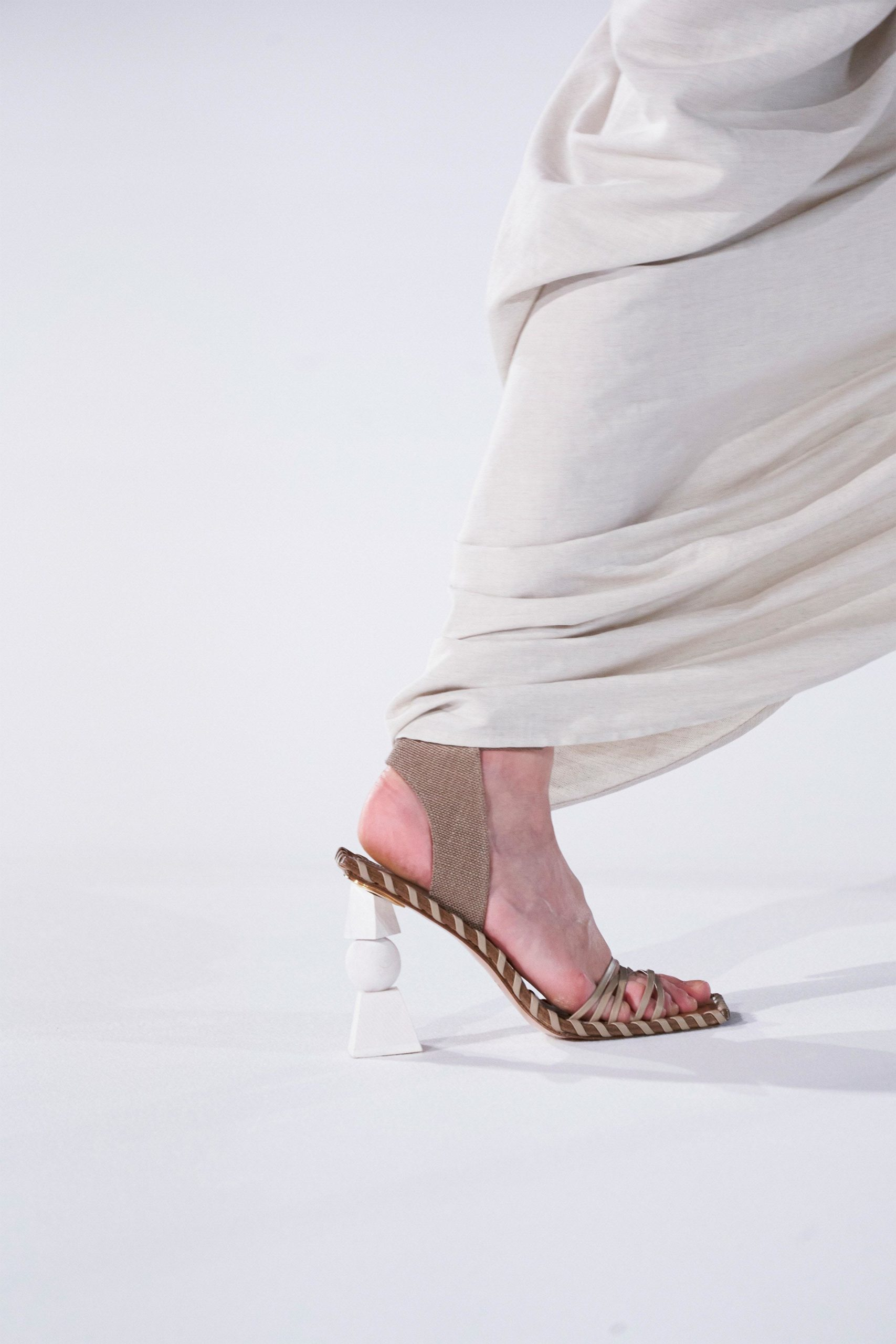 Jacquemus Fall 2020 trends runway coverage Ready To Wear Vogue shoes