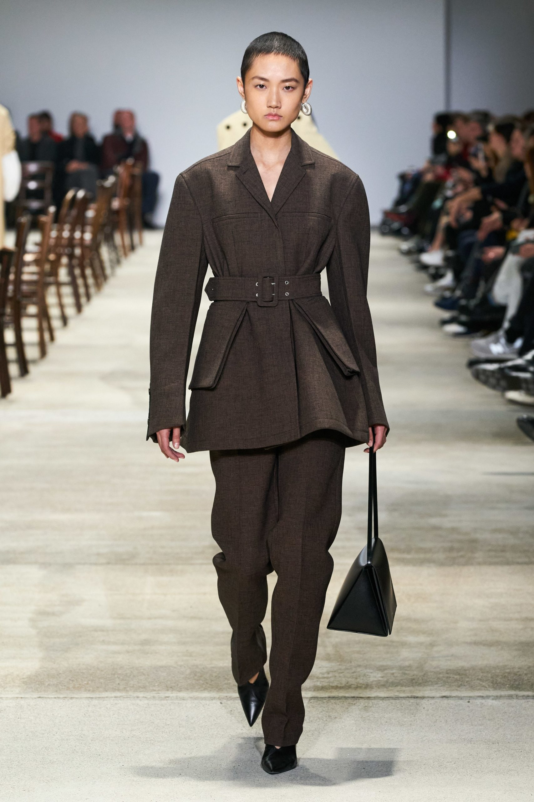 Jil Sander Fall 2020 trends runway coverage Ready To Wear Vogue brown monochrome
