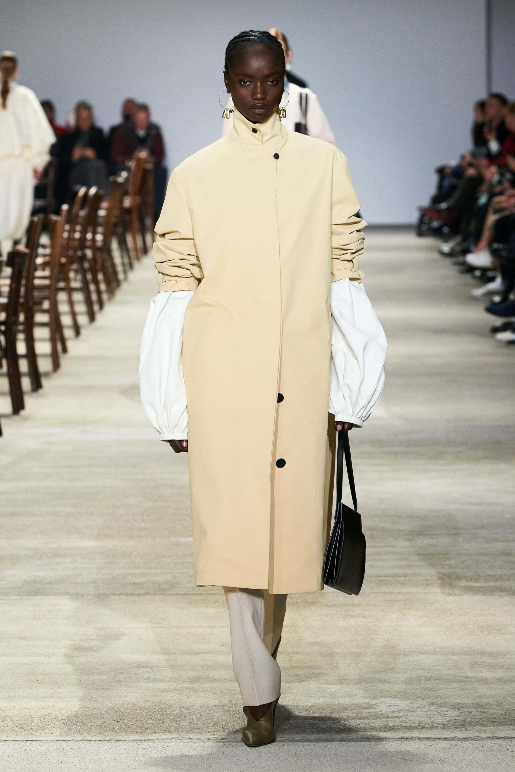 Jil Sander Fall 2020 trends runway coverage Ready To Wear Vogue manche bold sleeves