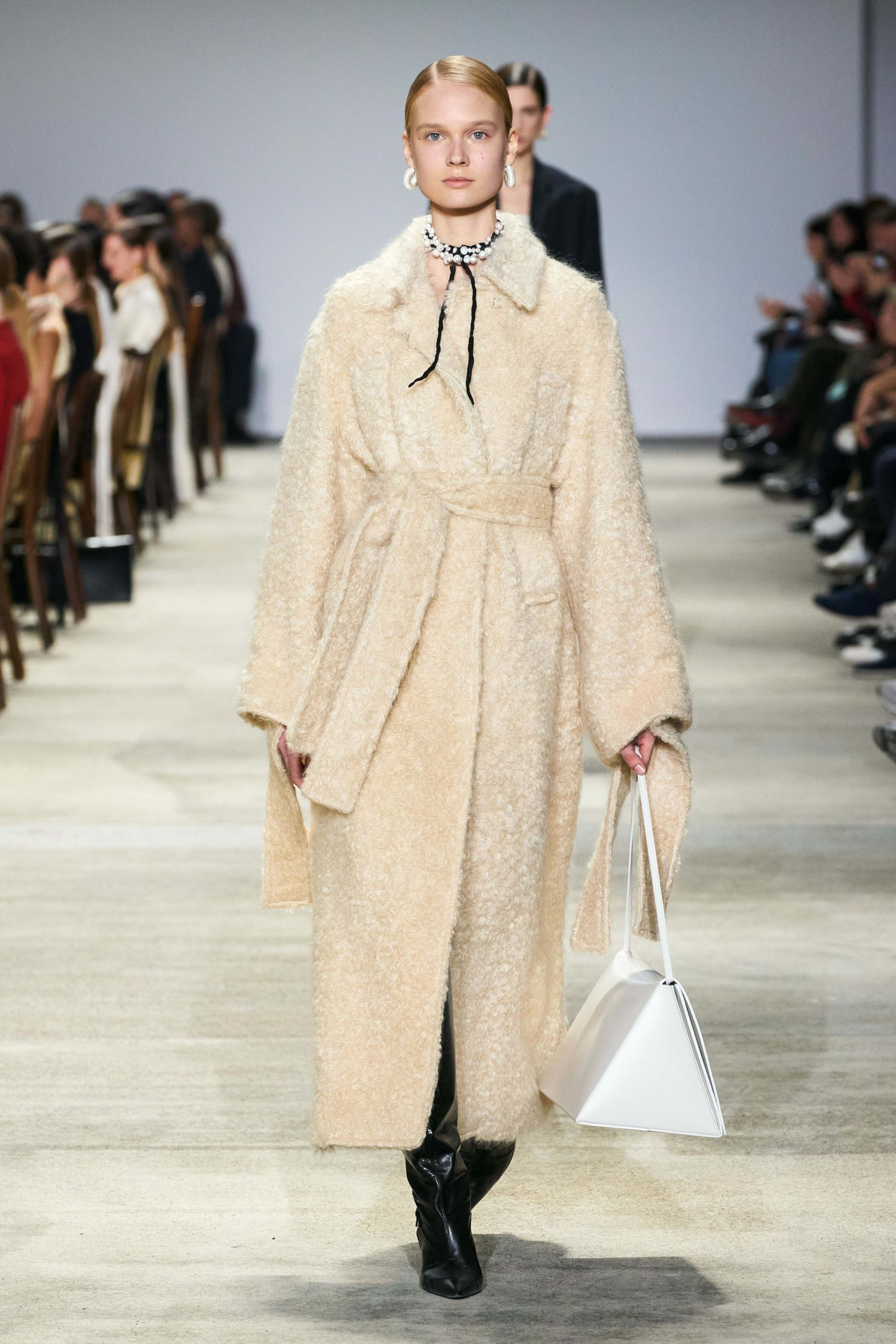 Jil Sander Fall 2020 trends runway coverage Ready To Wear Vogue shaggy