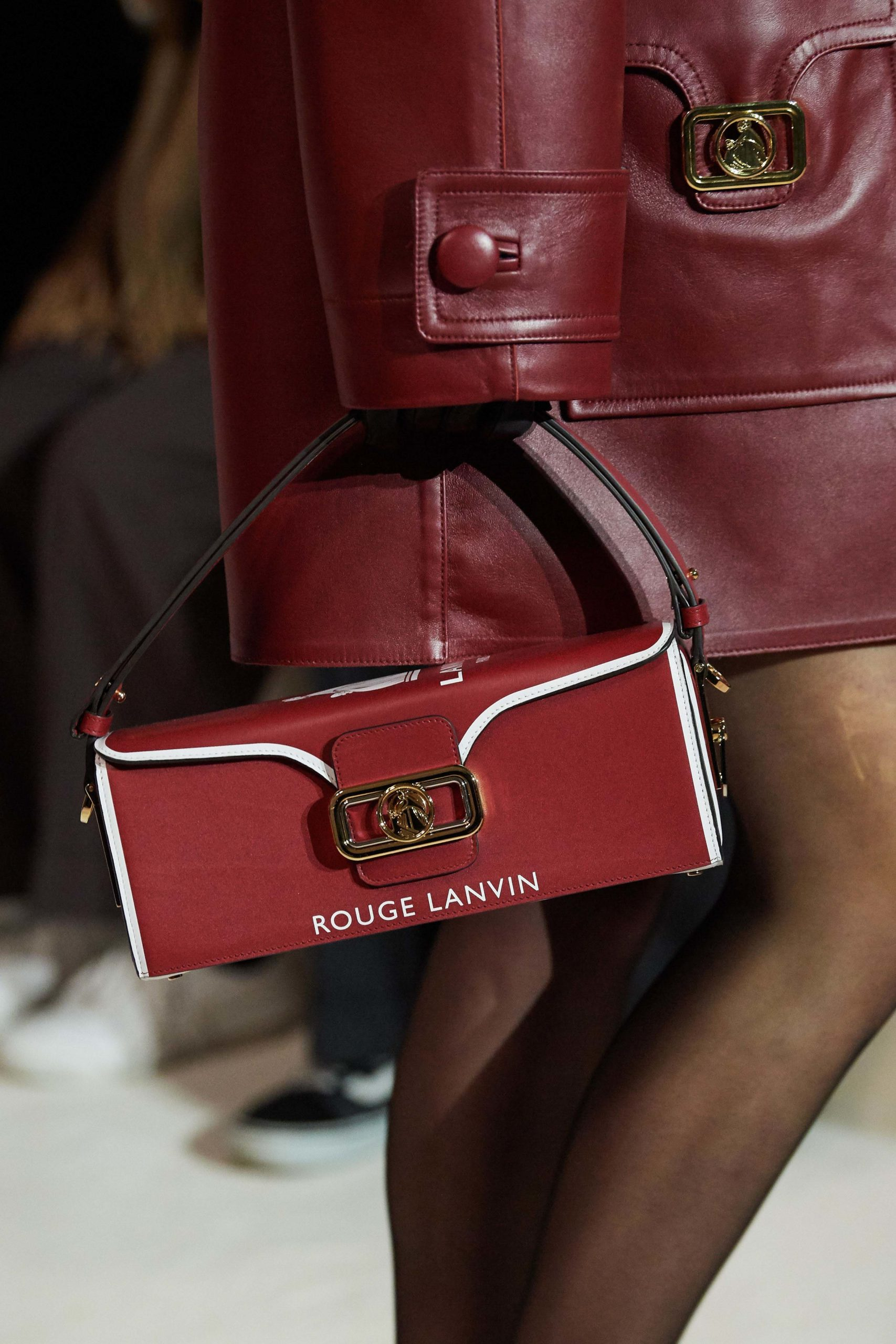 Lanvin Fall 2020 trends runway coverage Ready To Wear Vogue box bag vintage feel