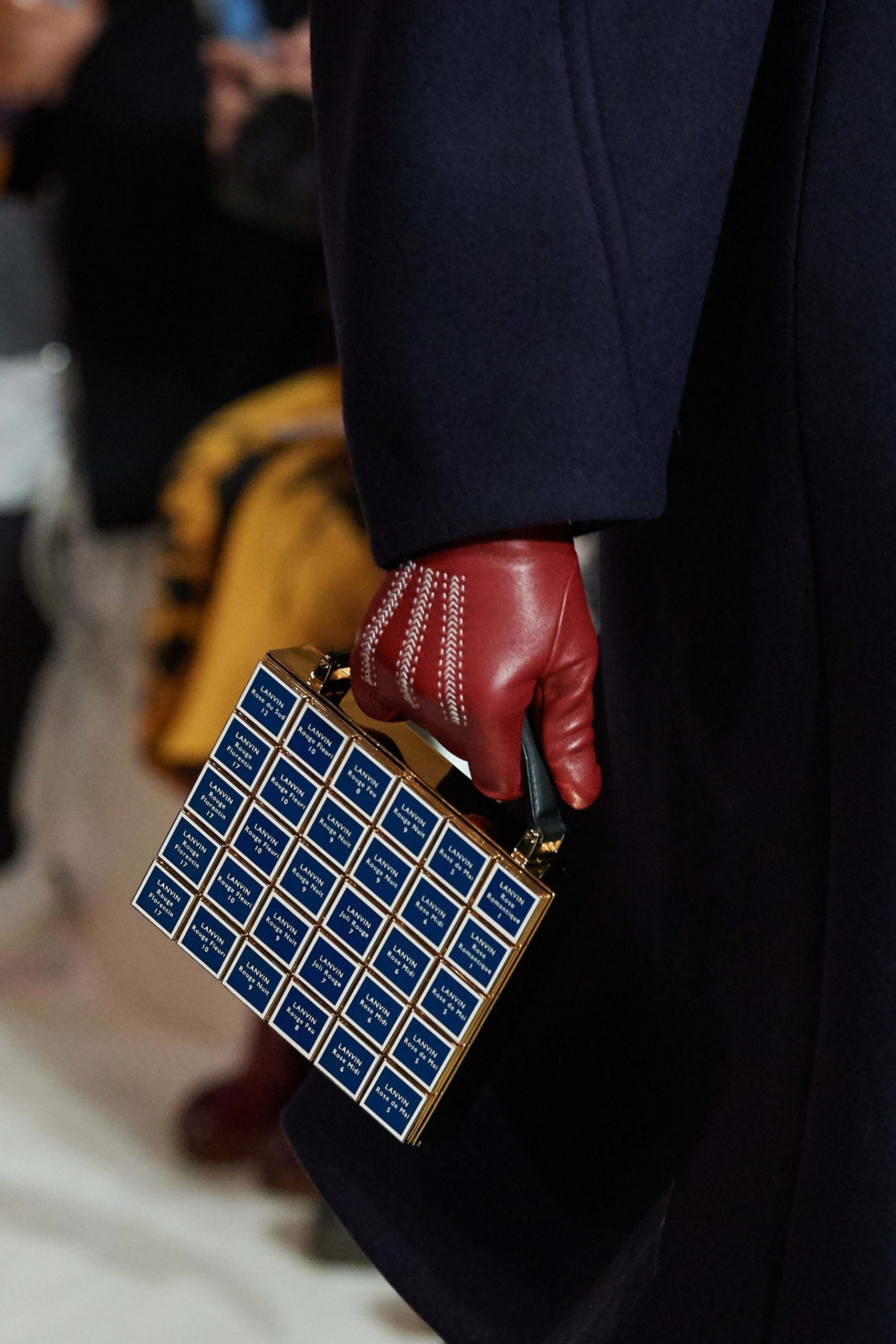 Lanvin Fall 2020 trends runway coverage Ready To Wear Vogue gloves