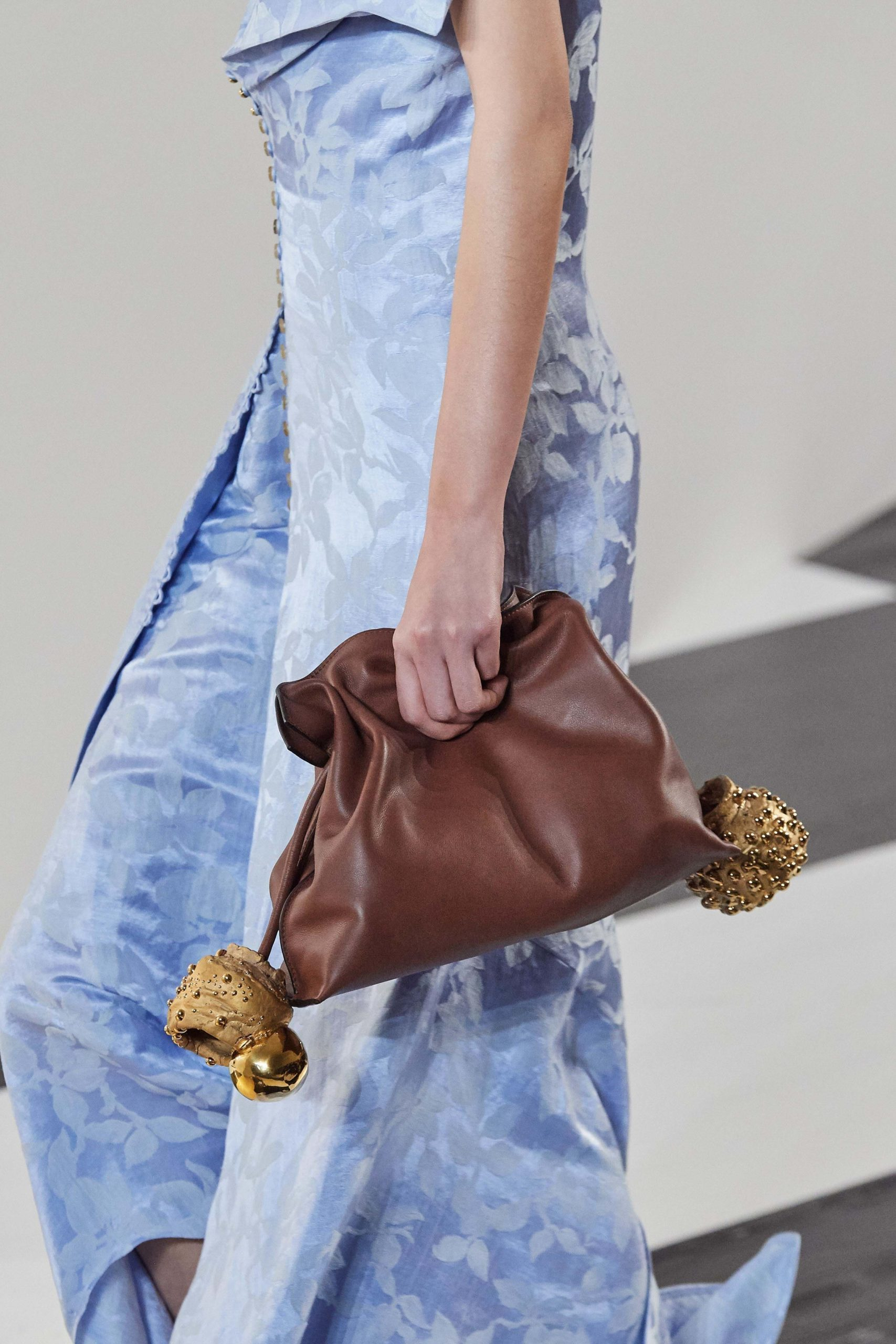 Loewe Fall 2020 trends runway coverage Ready To Wear Vogue bag large clutch trend
