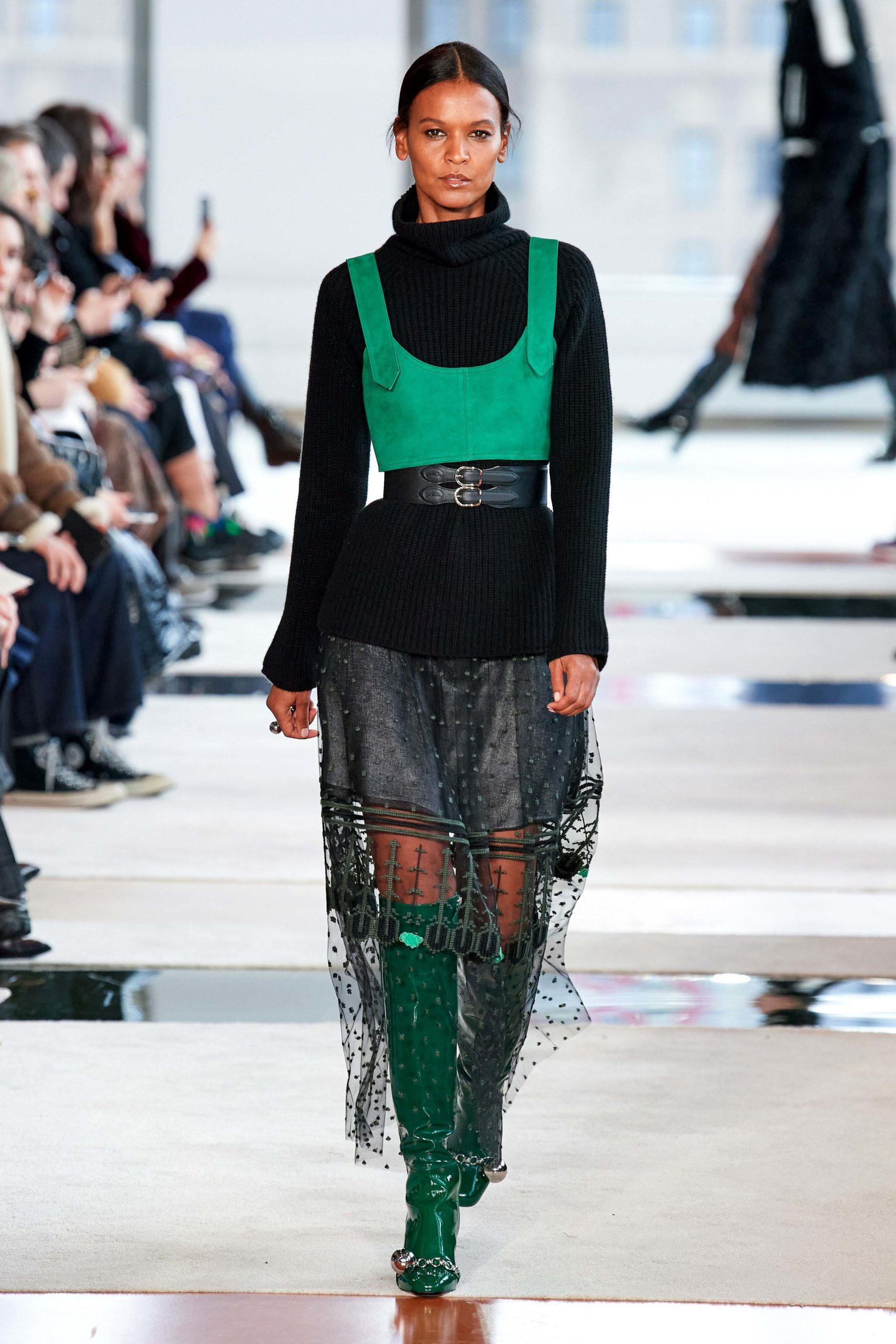 Longchamp Fall 2020 trends runway coverage Ready To Wear Vogue Harness_