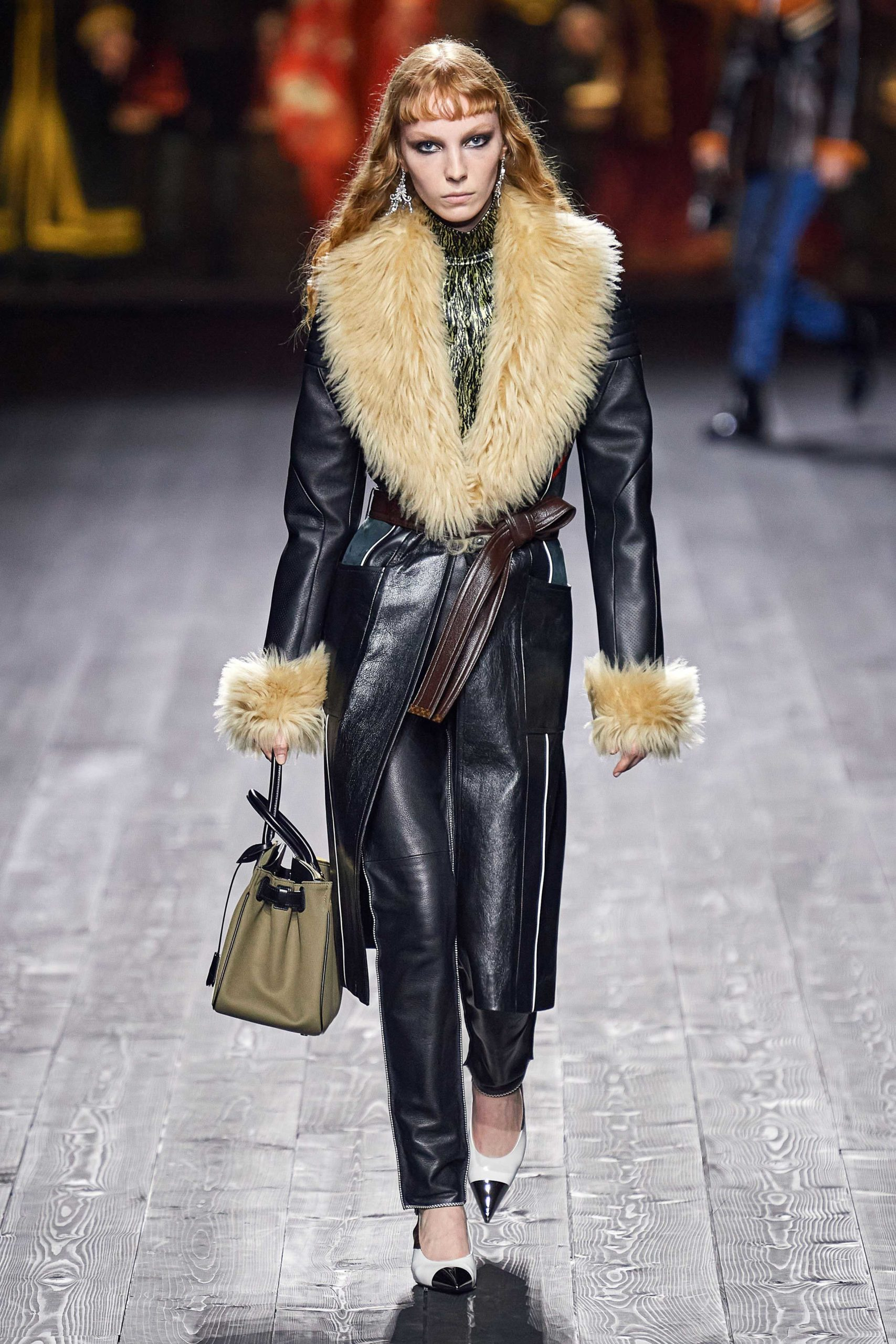 Louis Vuitton Fall 2020 trends runway coverage Ready To Wear Vogue shaggy
