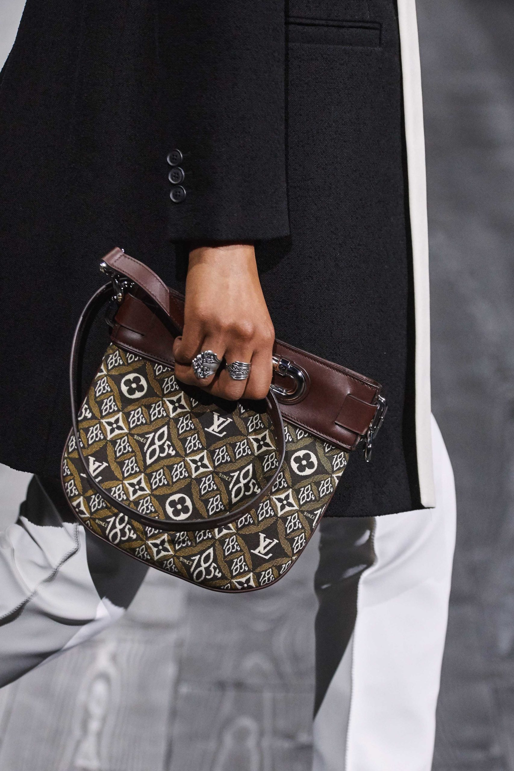 Louis Vuitton Fall 2020 trends runway coverage Ready To Wear Vogue vintage feel monogram bag