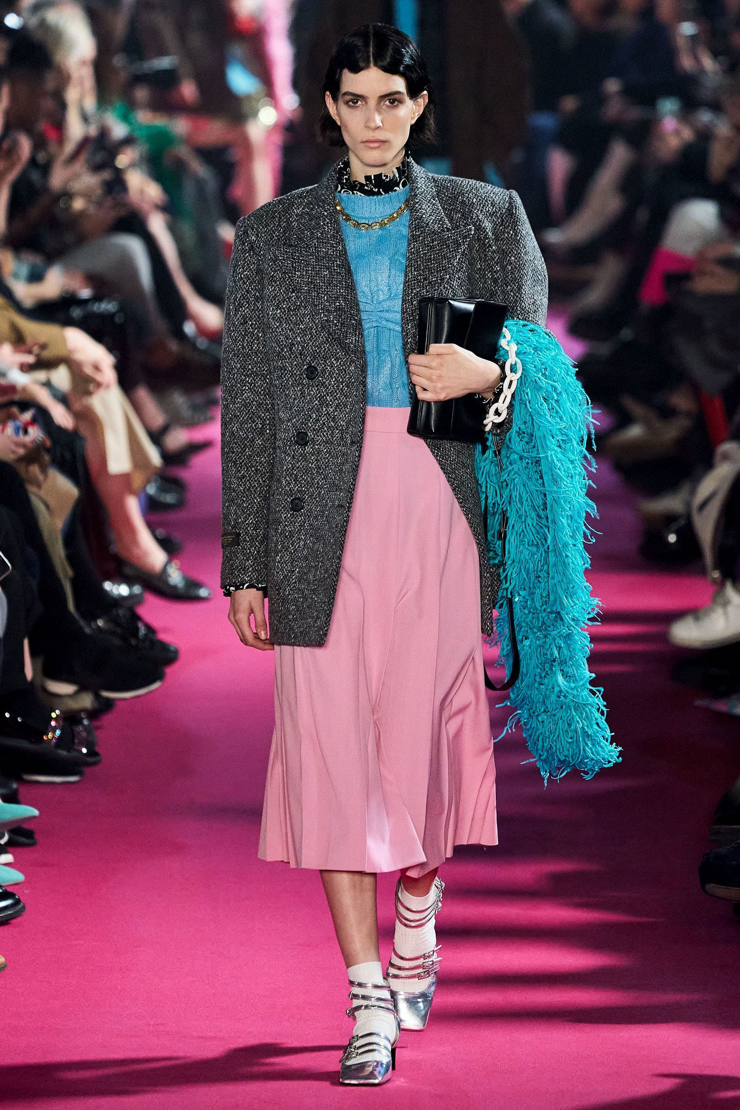 MSGM Fall 2020 trends runway coverage Ready To Wear Vogue like shaggy