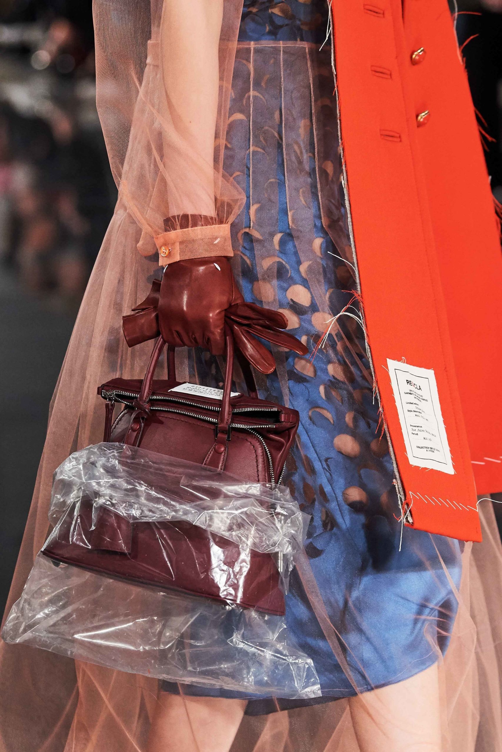Maison Margiela Fall 2020 trends runway coverage Ready To Wear Vogue bag 2