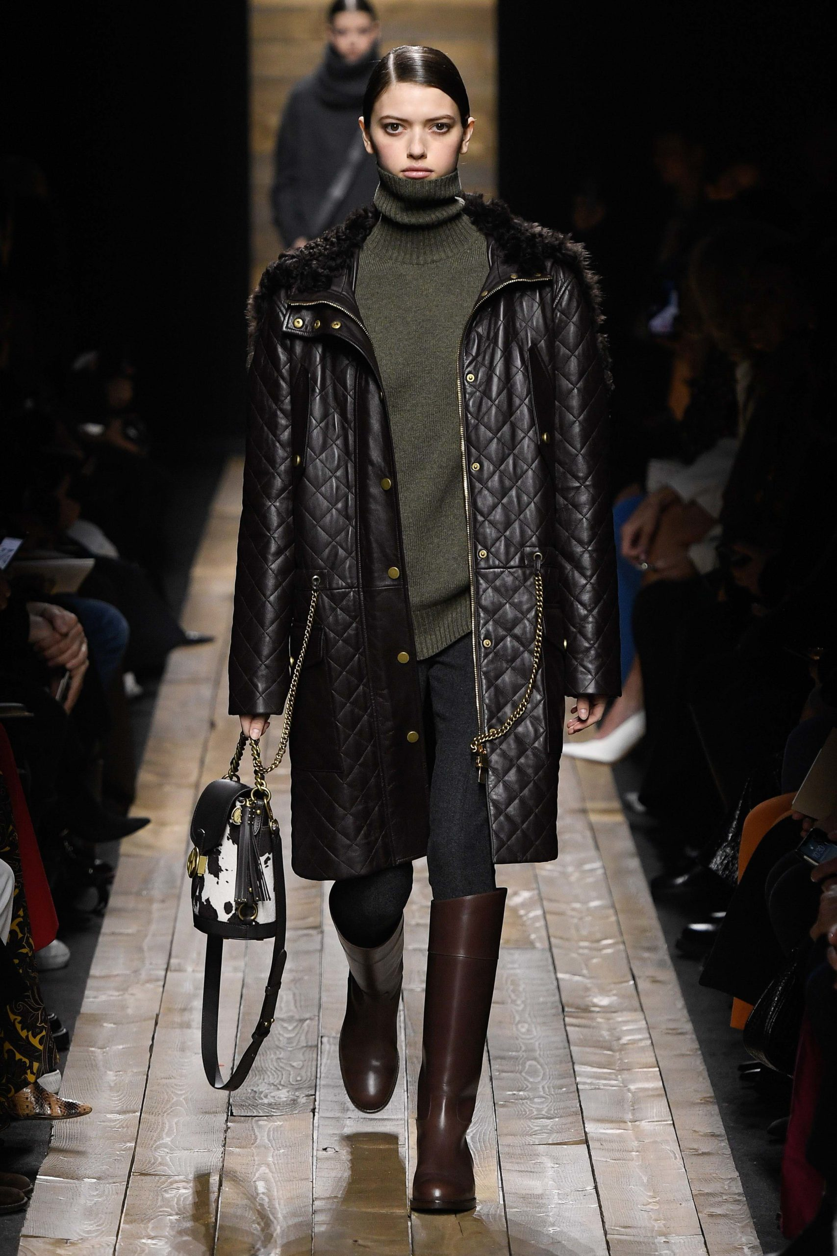 Michael Kors Fall 2020 trends runway coverage Ready To Wear Vogue coat quilted