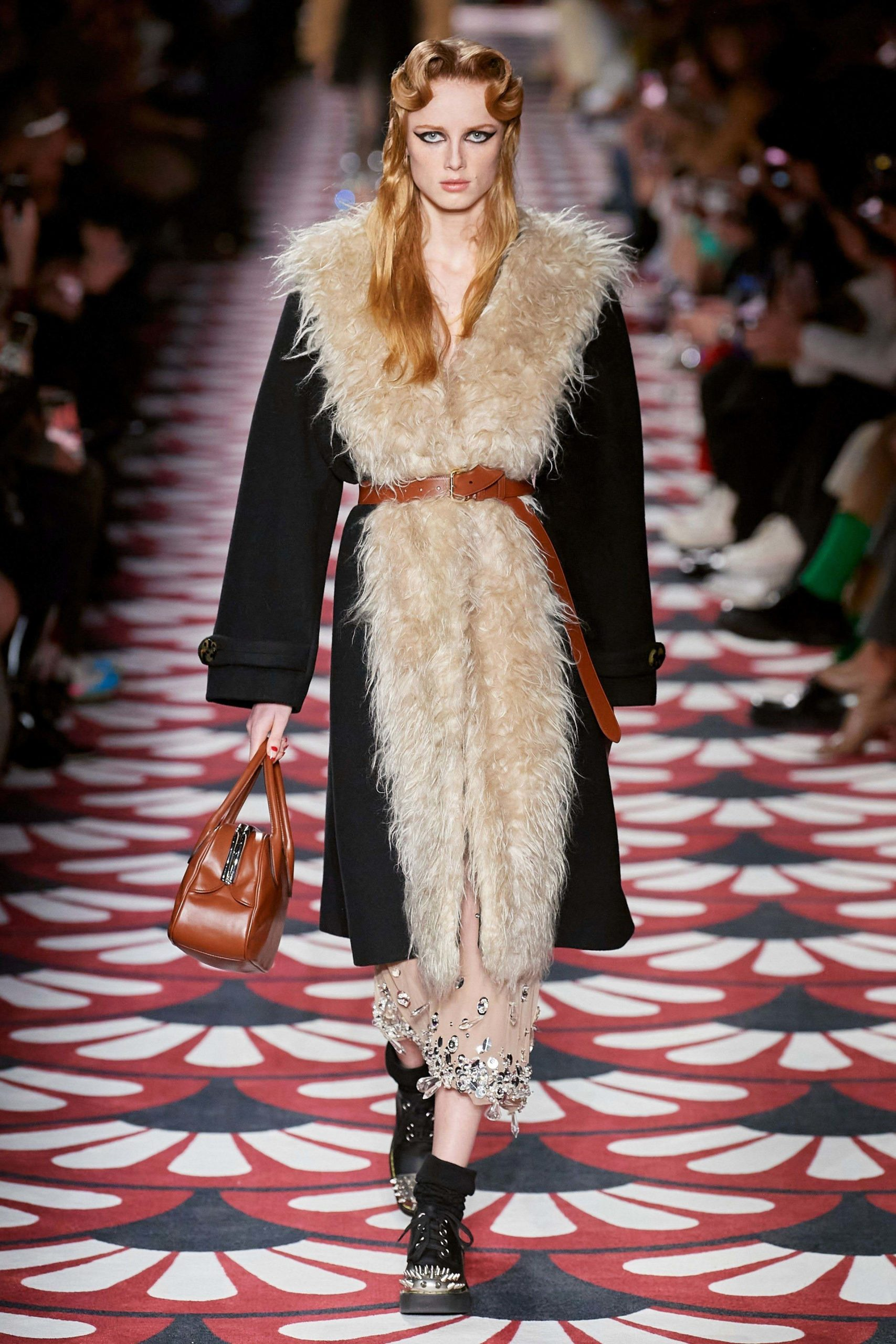 MiuMiu Fall 2020 trends runway coverage Ready To Wear Vogue shaggy_