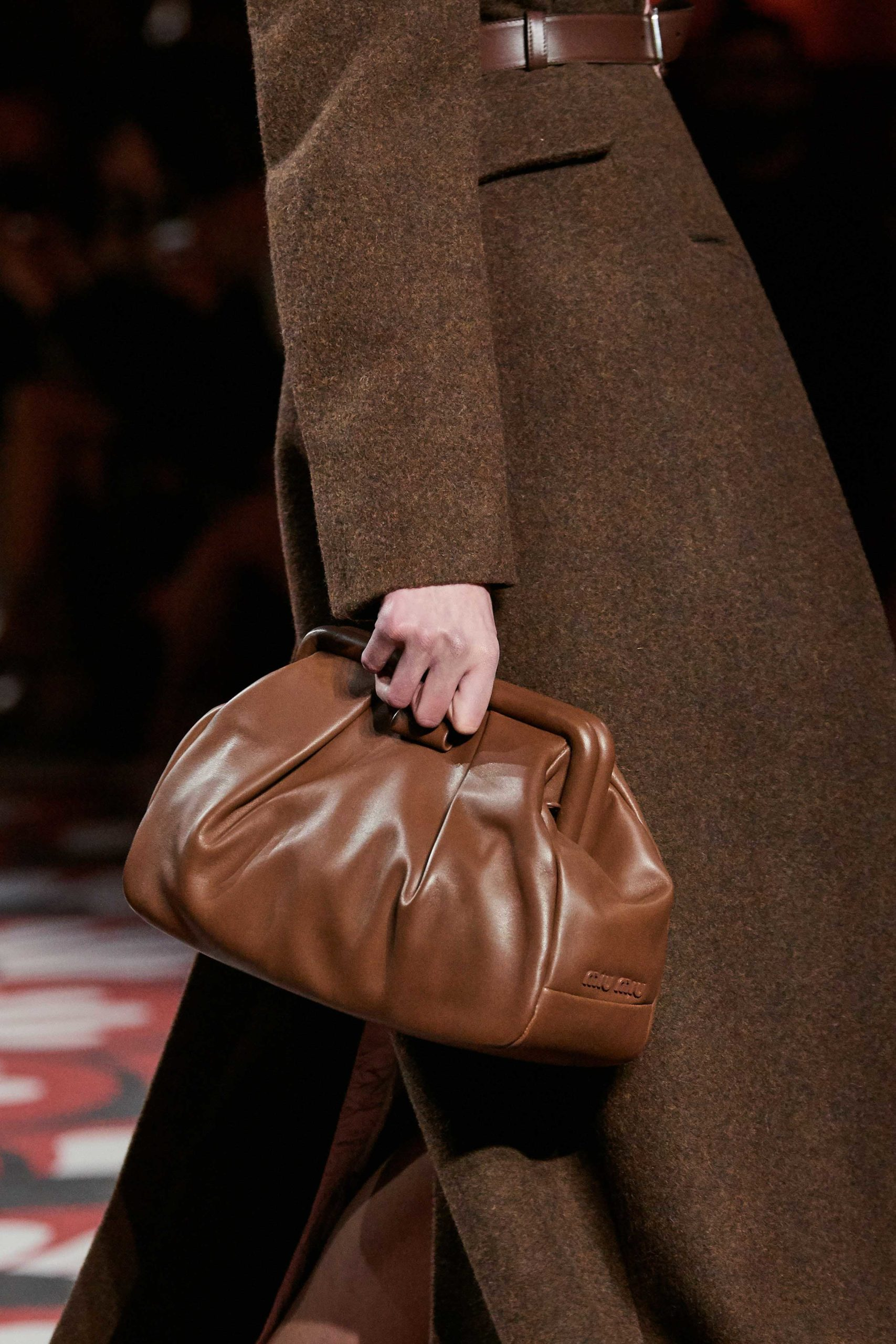 Miumiu Fall 2020 trends runway coverage Ready To Wear Vogue clutch