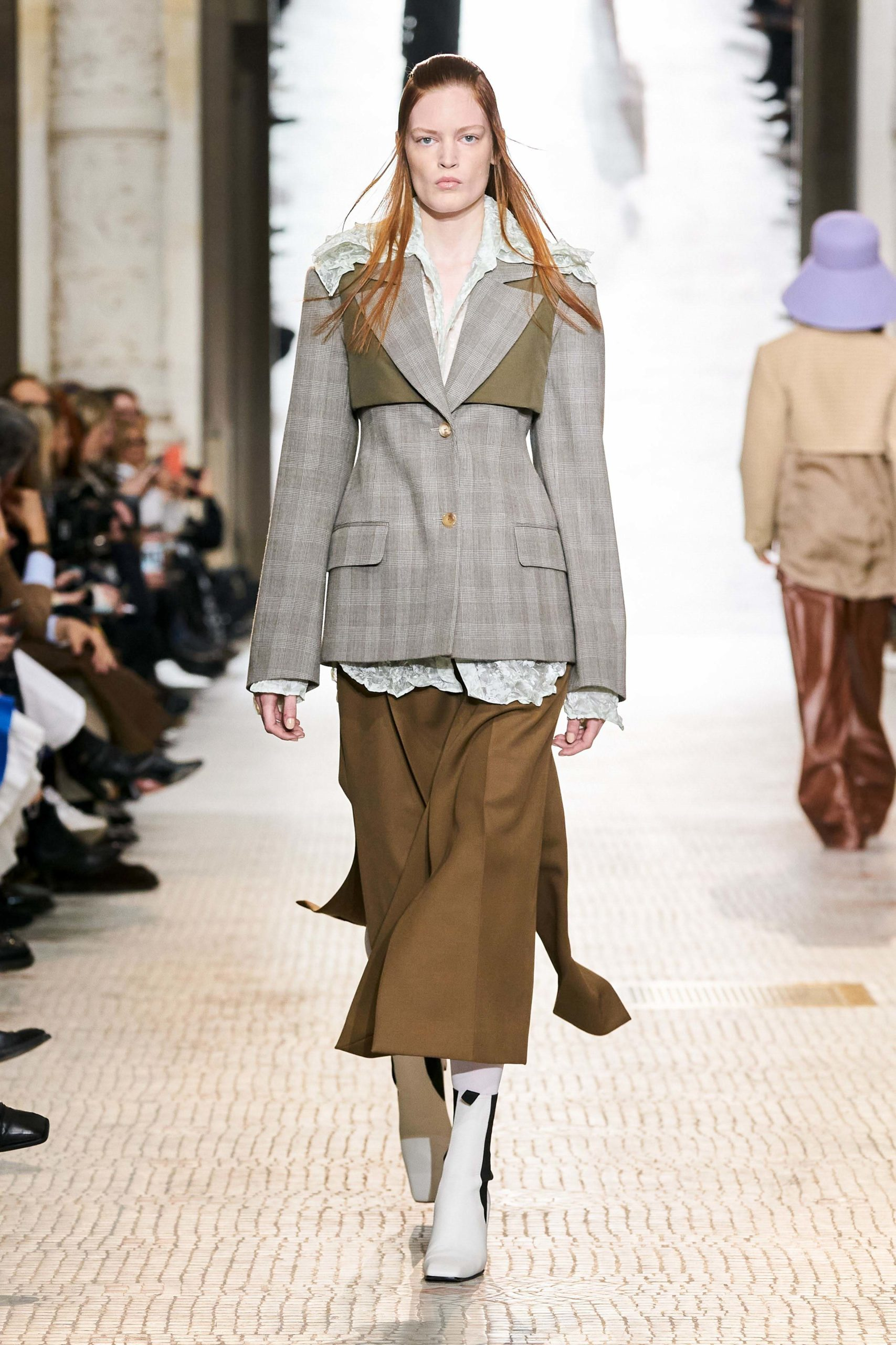 Nina Ricci Fall 2020 trends runway coverage Ready To Wear Vogue tailleur jupe skirt suit