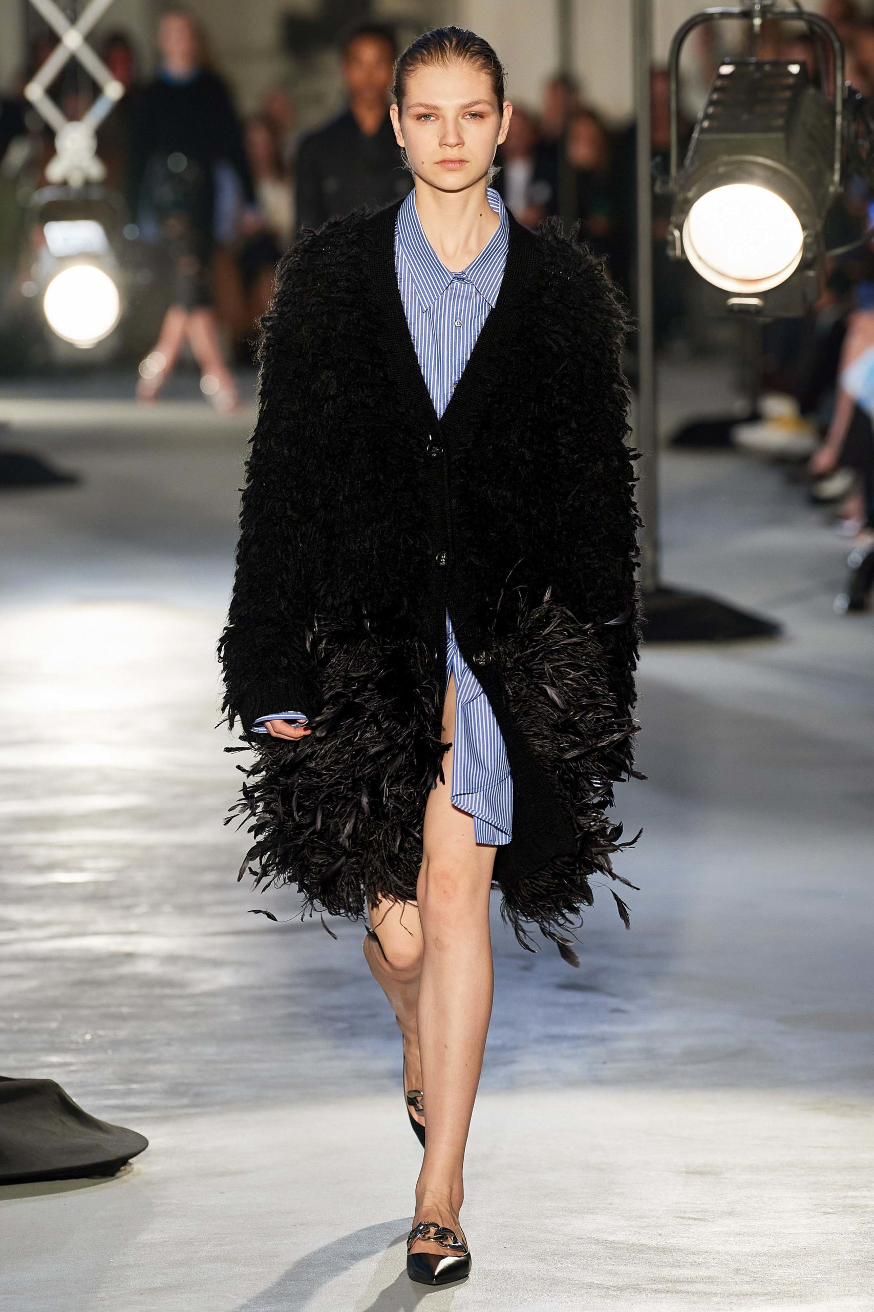 Numero 21 Fall 2020 trends runway coverage Ready To Wear Vogue feather