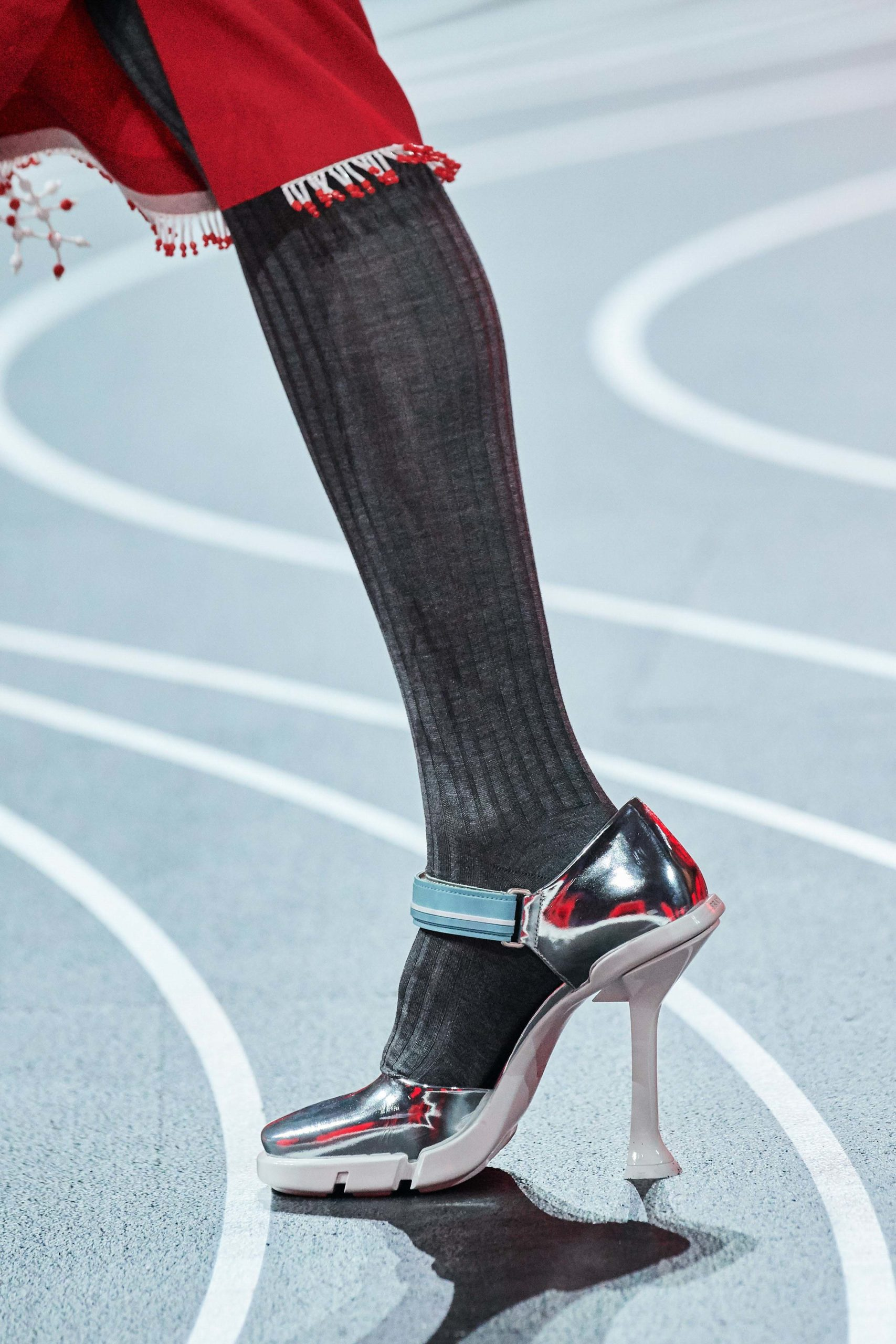 Prada Fall 2020 trends runway coverage Ready To Wear Vogue shoes