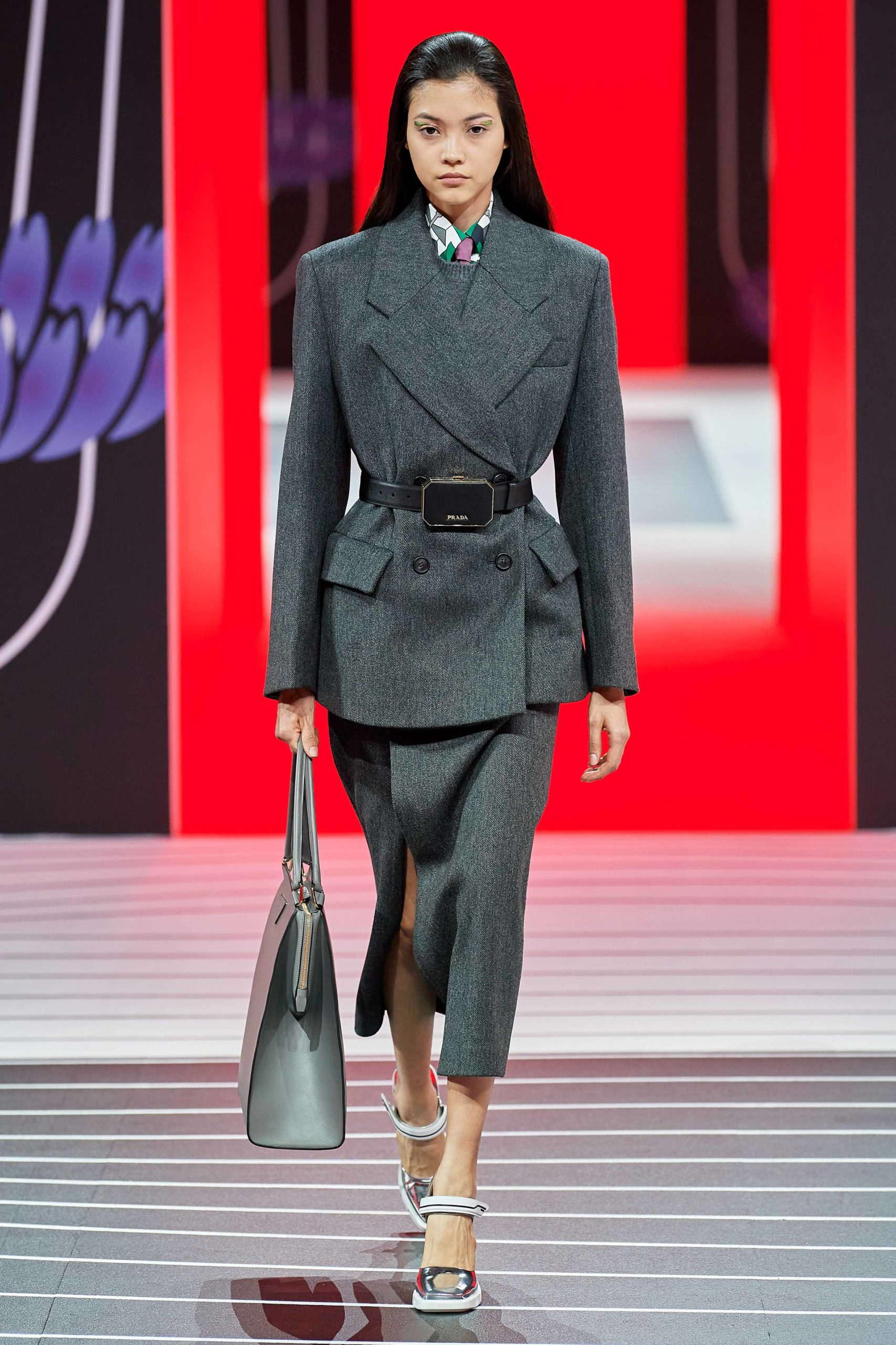 Prada Fall 2020 trends runway coverage Ready To Wear Vogue stailleur skirt skirt suit