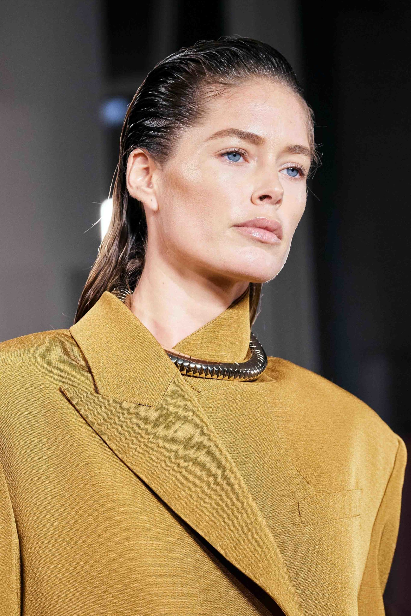 Proenza Schouler Fall 2020 trends runway coverage Ready To Wear Vogue beauty baby hair