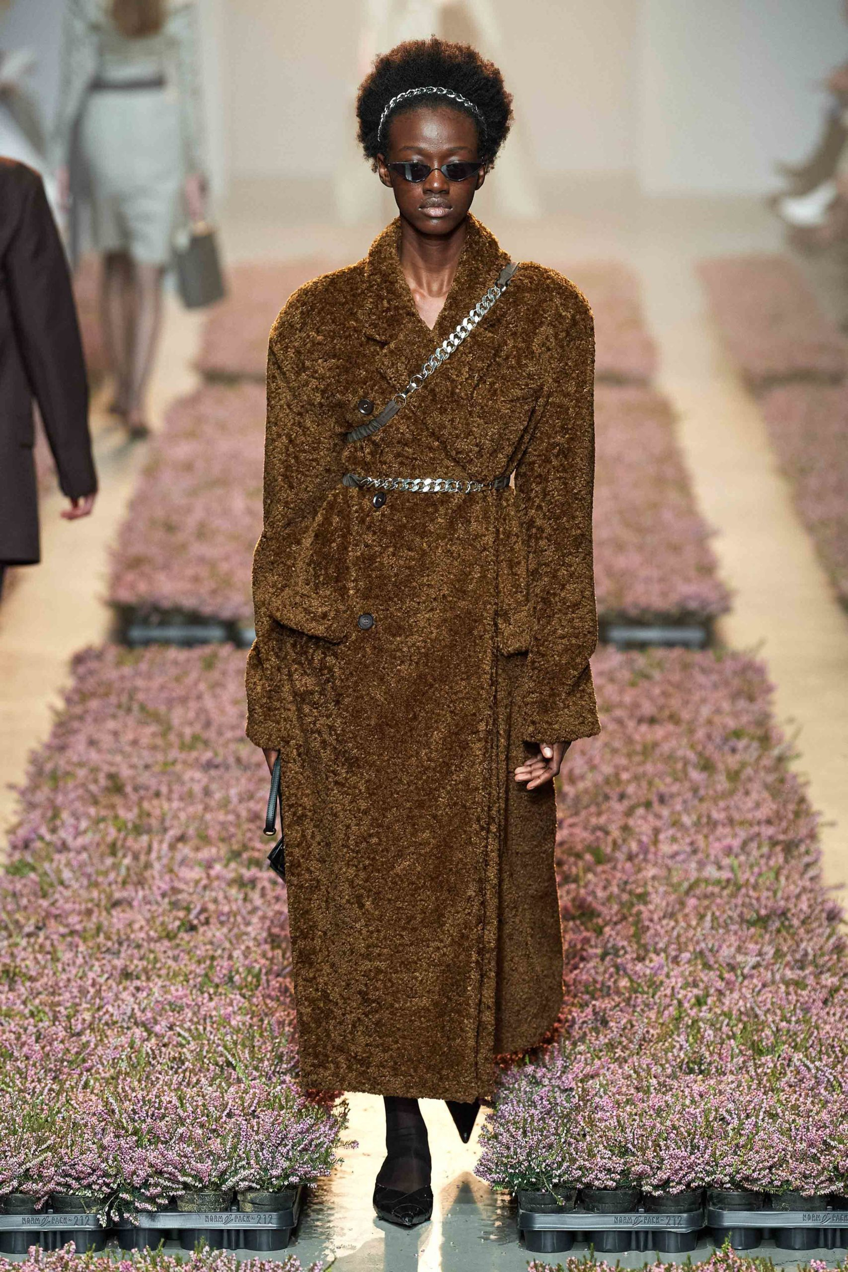 Rokh Fall 2020 trends runway coverage Ready To Wear Vogue coat shaggy