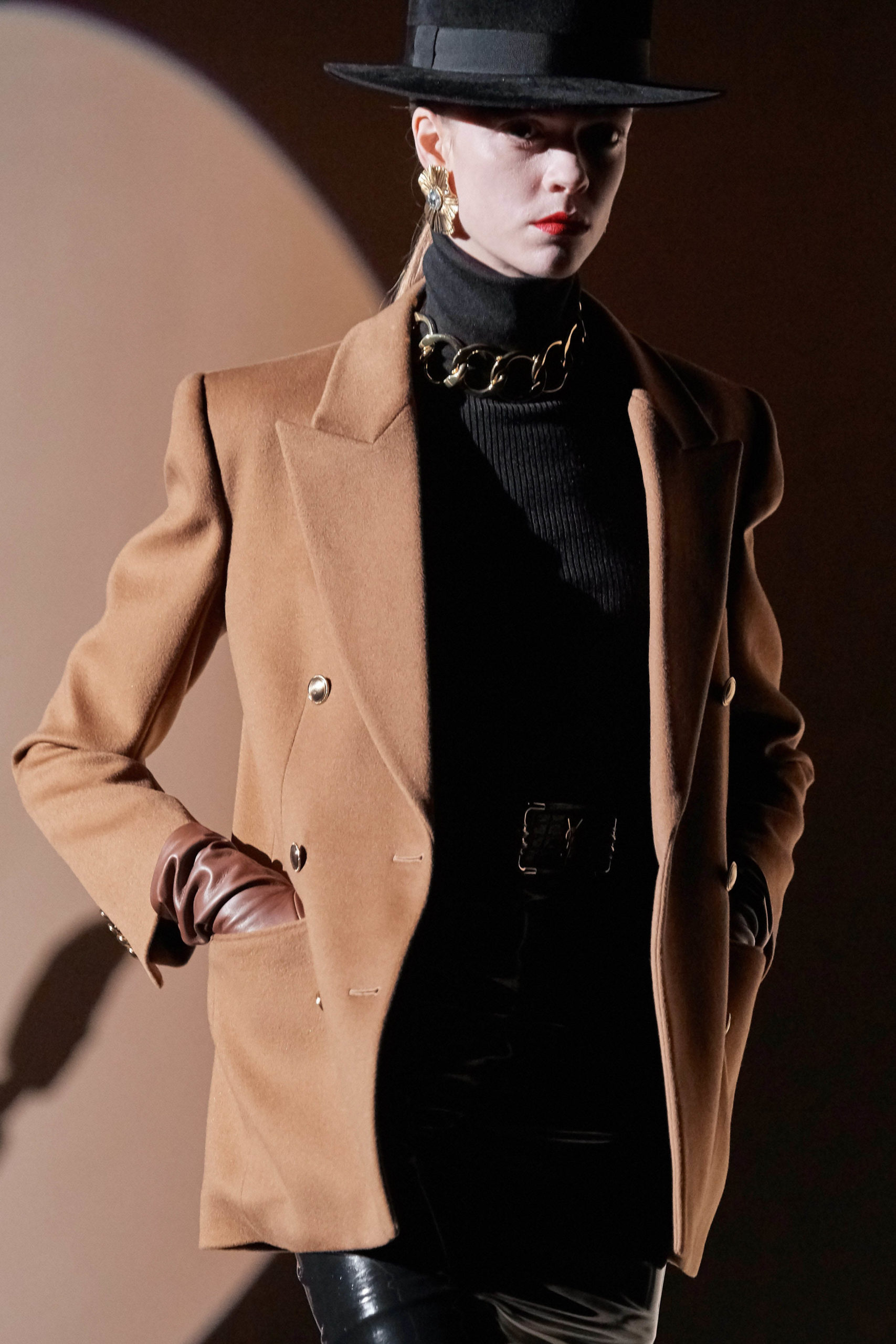 Saint Laurent Fall 2020 trends runway coverage Ready To Wear Vogue details best of accessories fall 2020