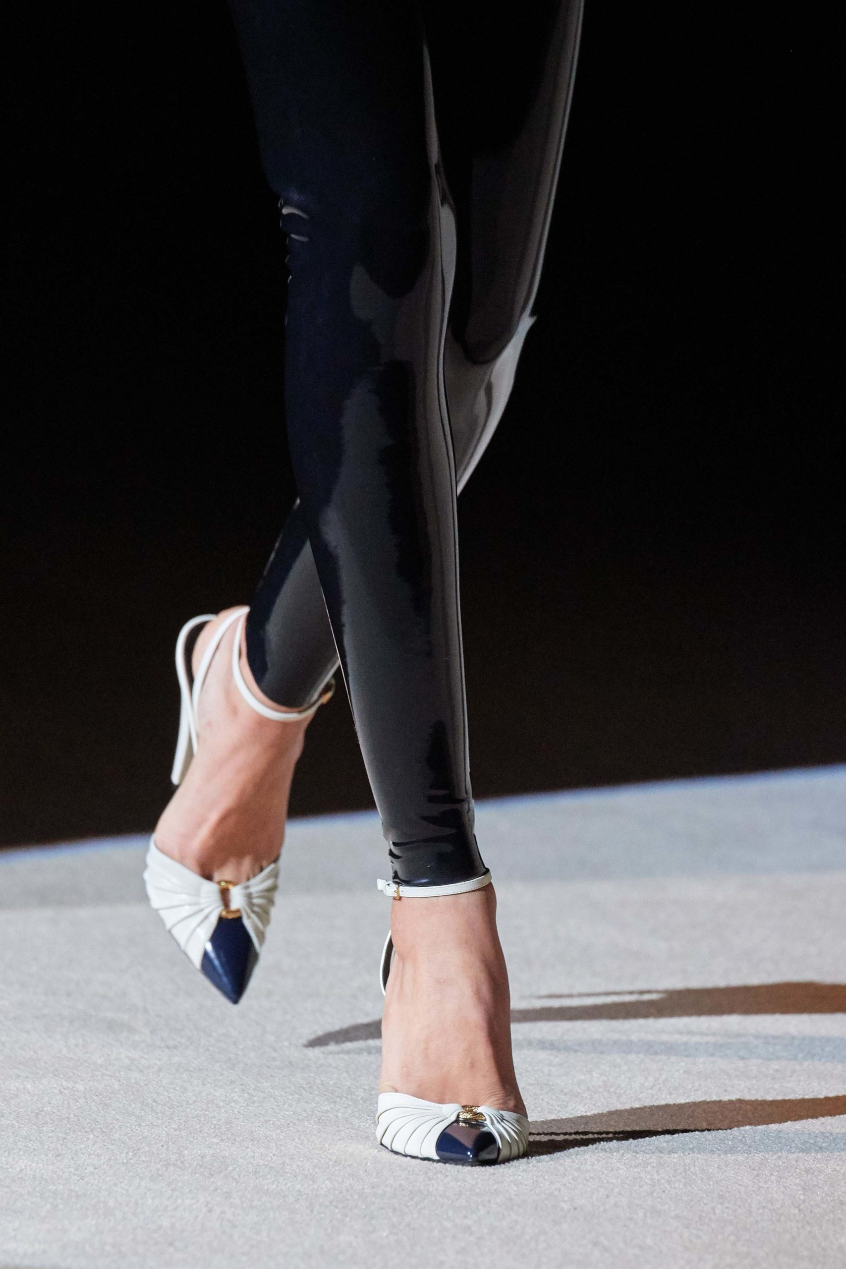 Saint Laurent Fall 2020 trends runway coverage Ready To Wear Vogue pumps
