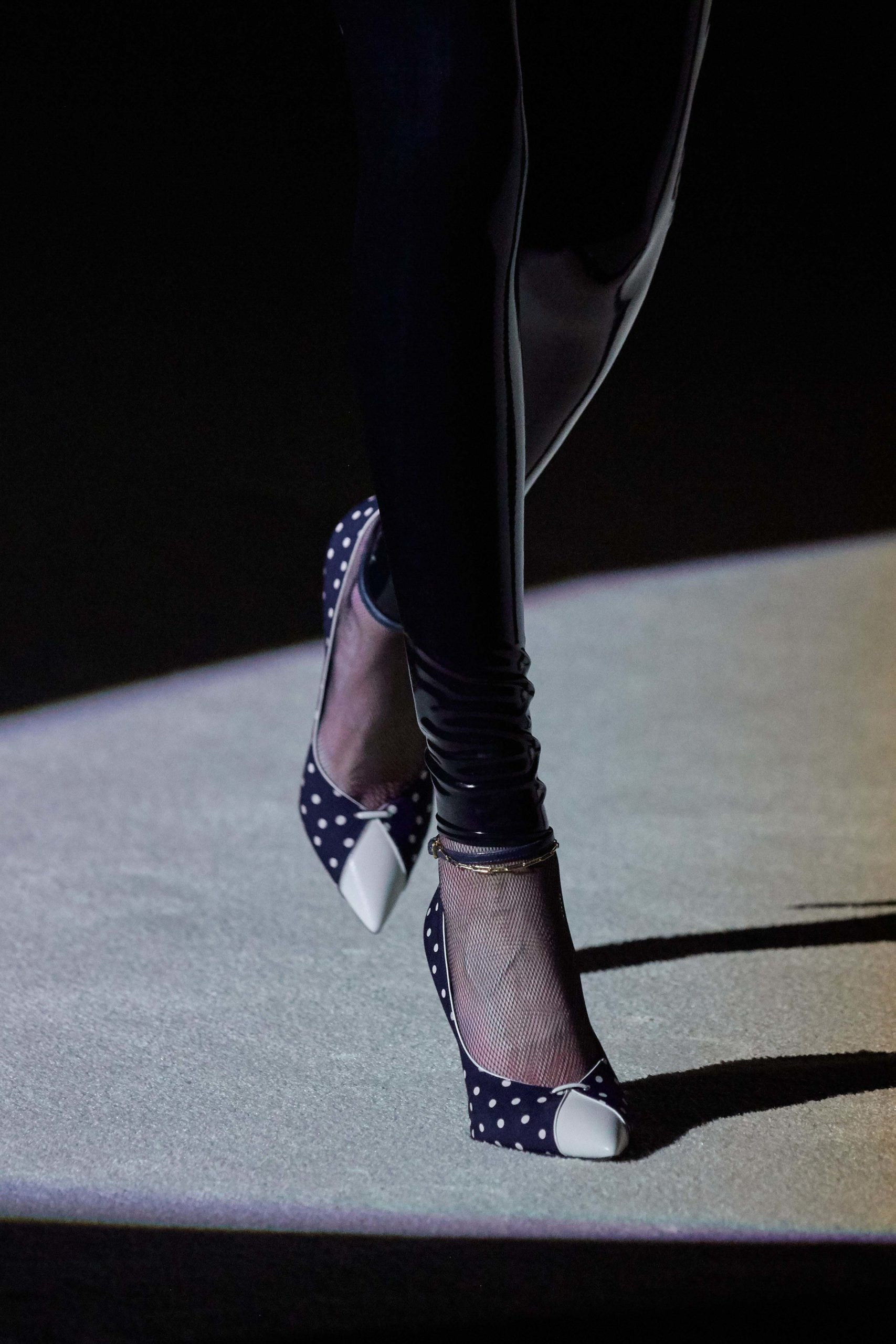 Saint Laurent Fall 2020 trends runway coverage Ready To Wear Vogue shoes