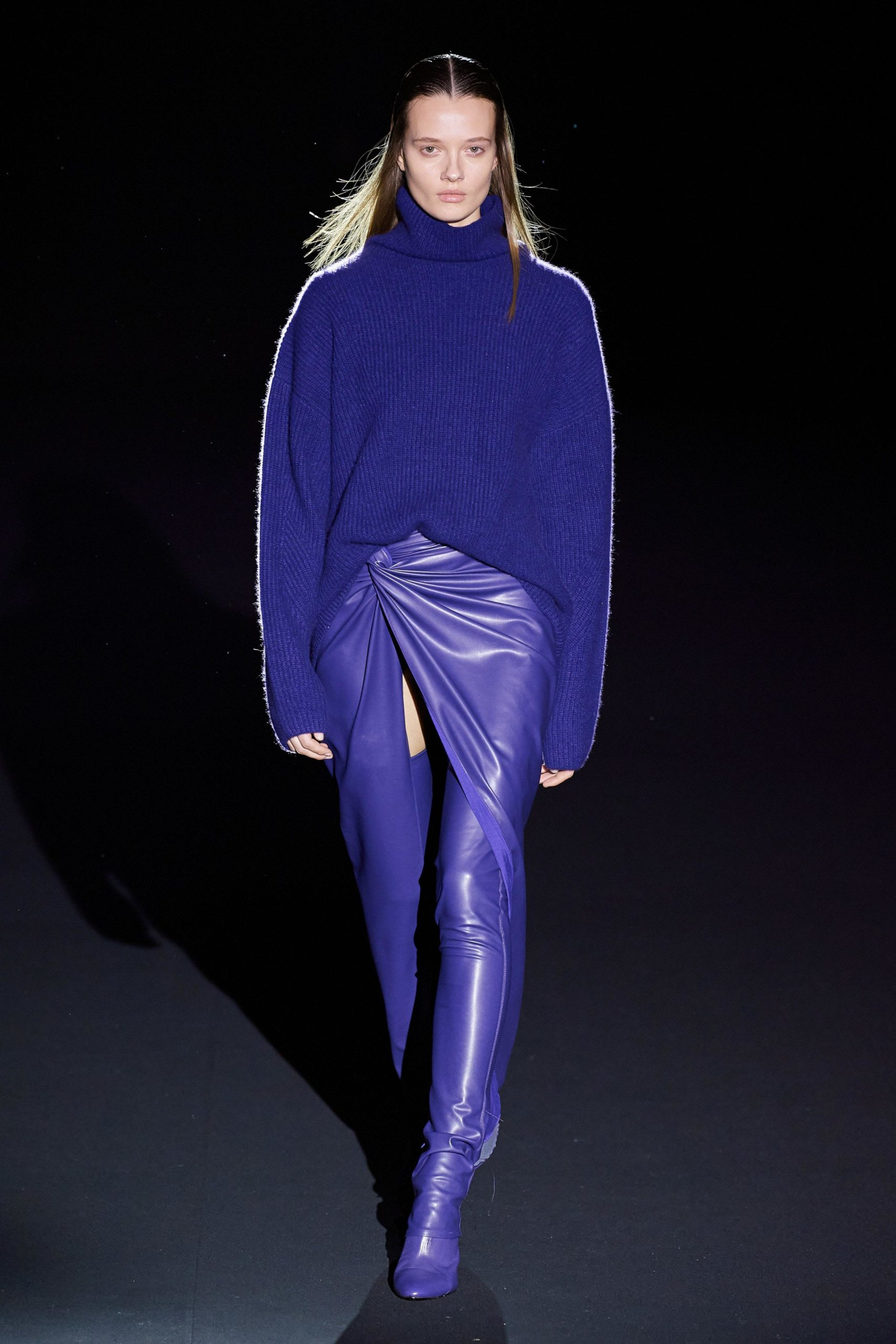 Sally Lapointe Fall 2020 trends runway coverage Ready To Wear Vogue Thigh High Boots