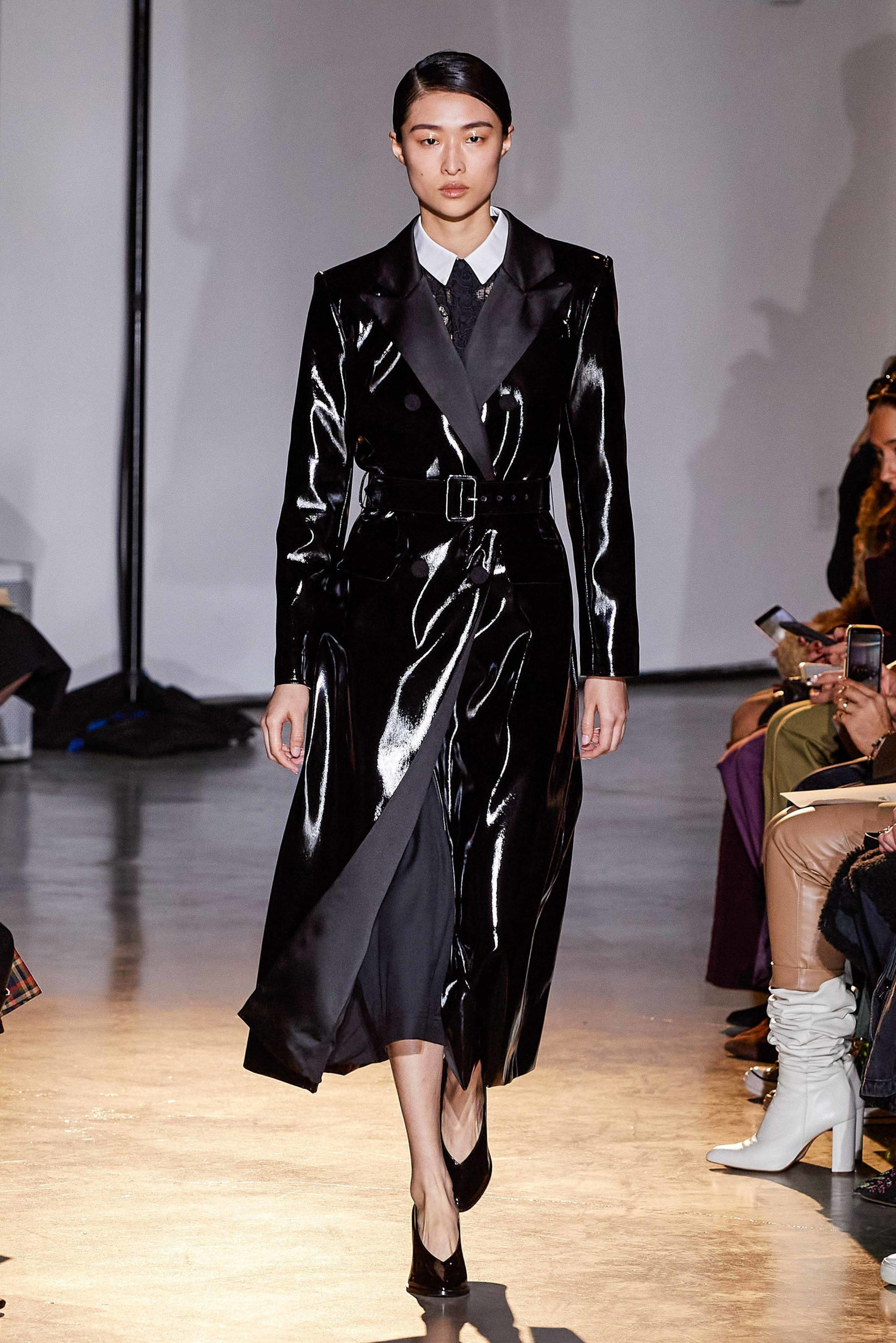 Self Portrait Fall 2020 trends runway coverage Ready To Wear Vogue luster coat