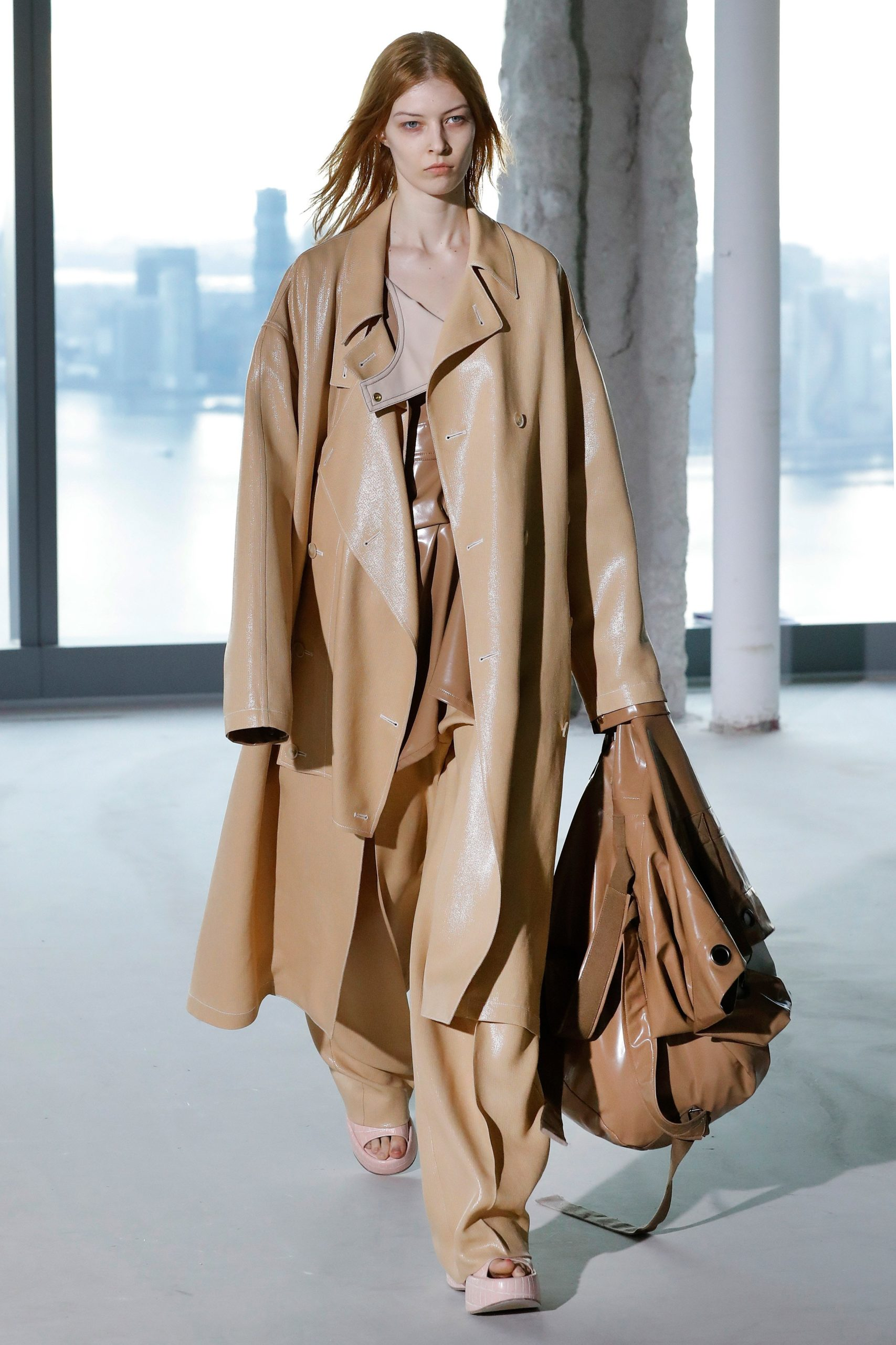 Sies Marjan Fall 2020 trends runway coverage Ready To Wear Vogue beige monochrome