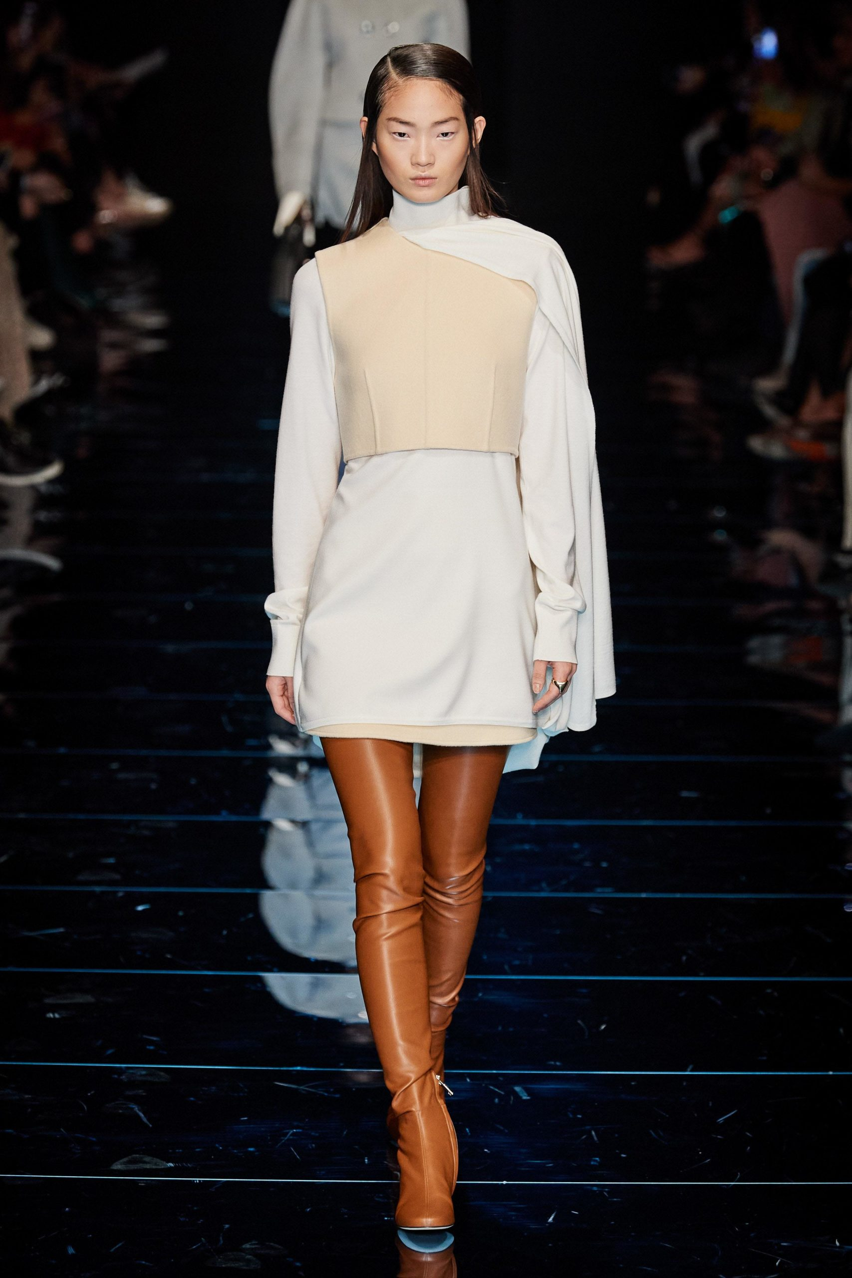 Sportmax Fall 2020 trends runway coverage Ready To Wear Vogue Thigh High Boots