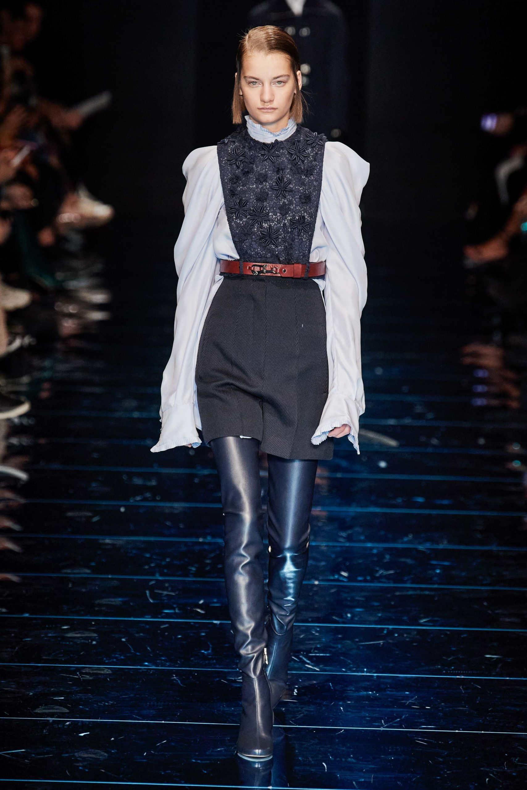 Sportmax Fall 2020 trends runway coverage Ready To Wear Vogue manche bold sleeves