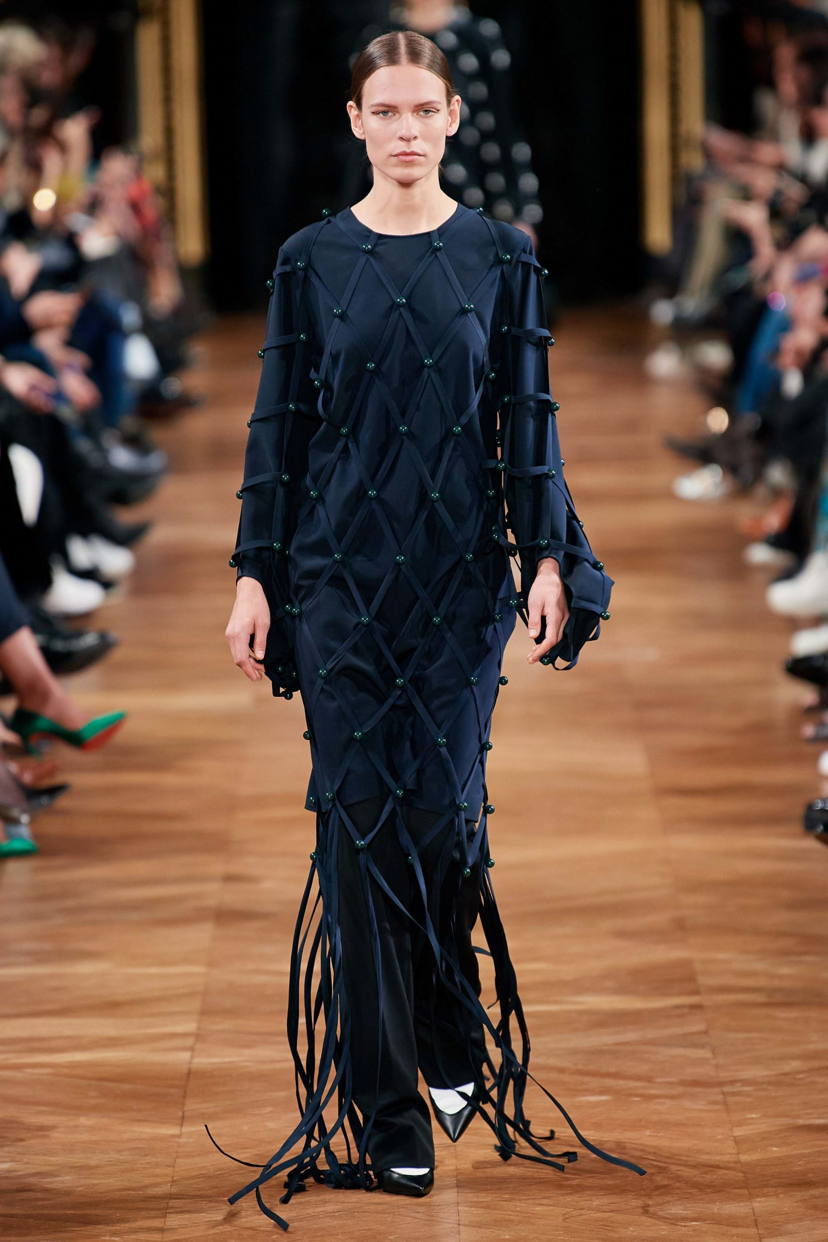 Stella McCartney Fall 2020 trends runway coverage Ready To Wear Vogue fringe