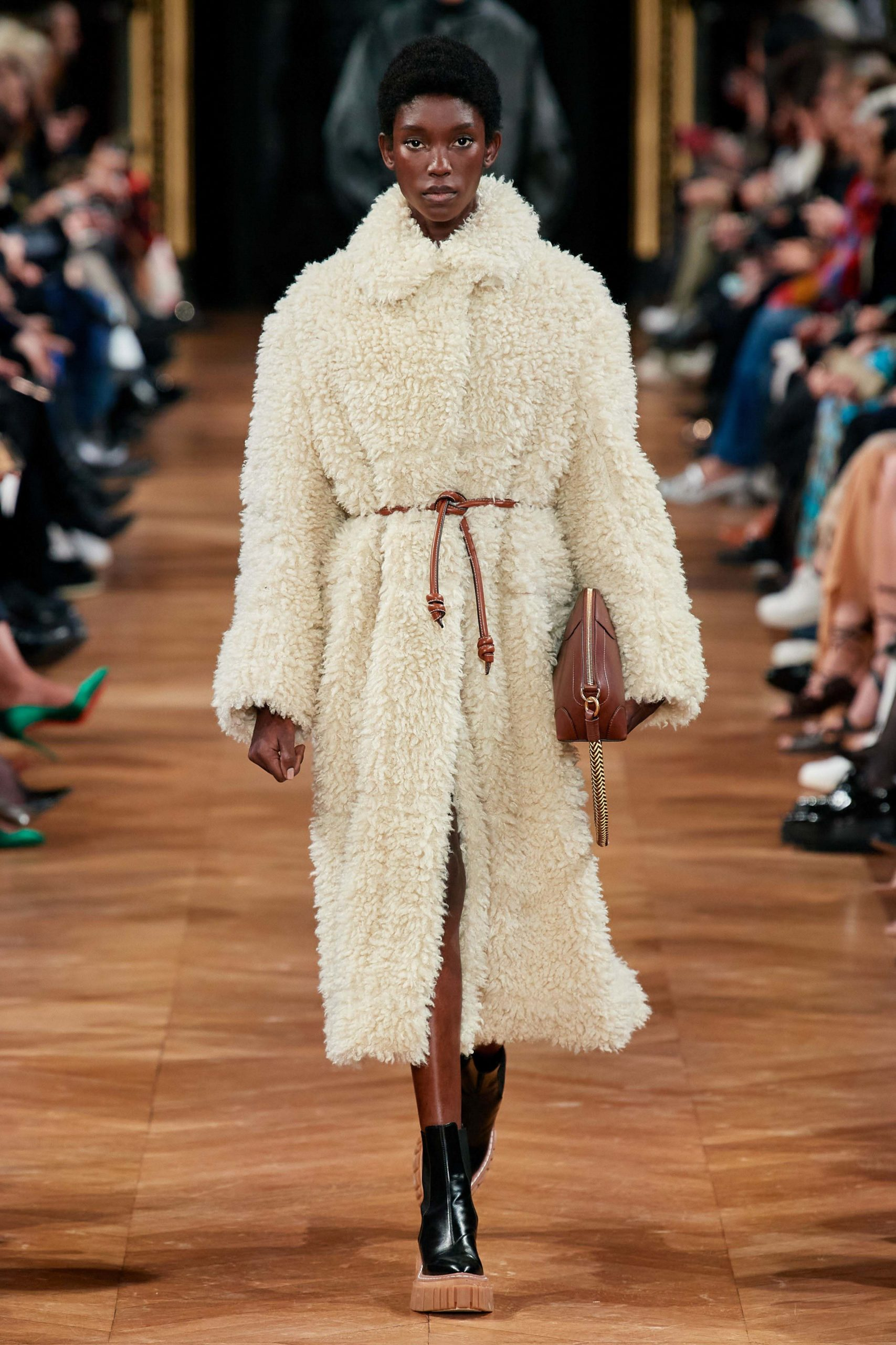 Stella McCartney Fall 2020 trends runway coverage Ready To Wear Vogue shaggy