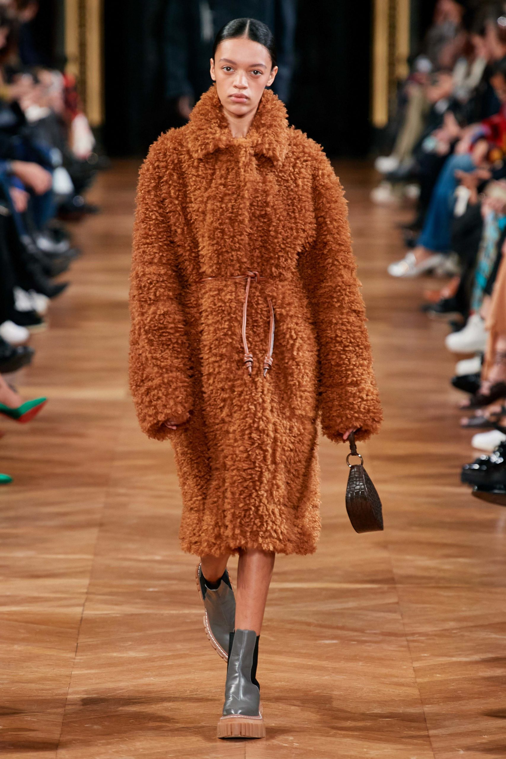 Stella McCartney Fall 2020 trends runway coverage Ready To Wear Vogue shaggy 2