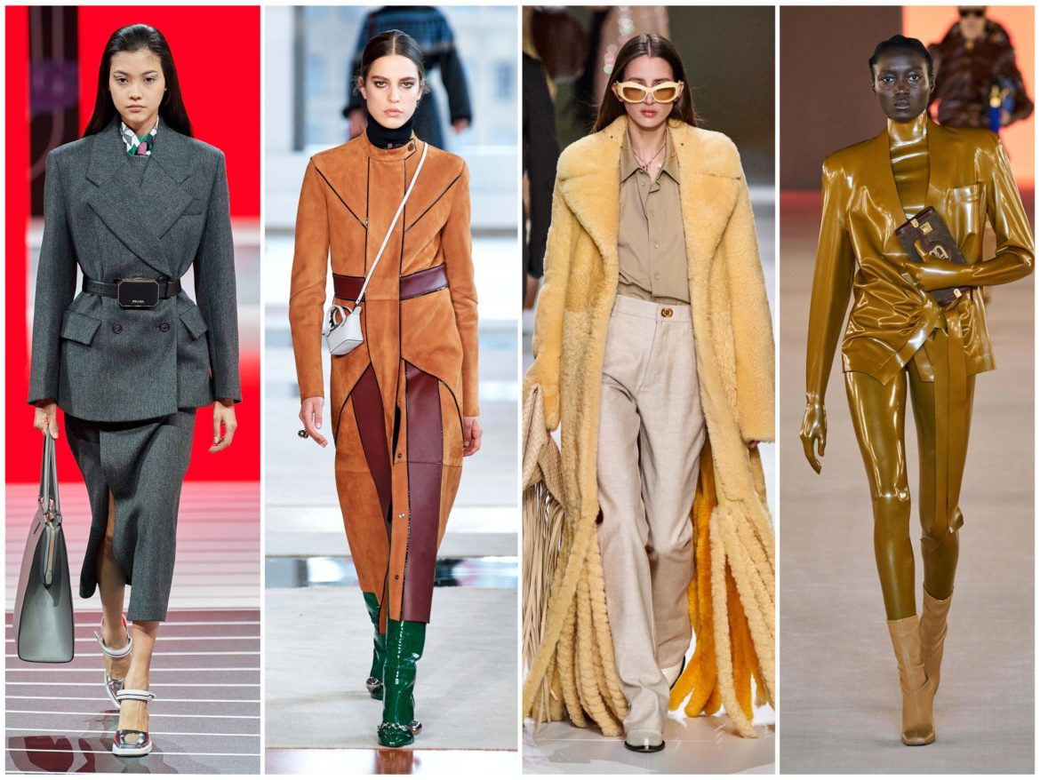 Top 15 Fall 2020 fashion trends fashion week report saint laurent, victoria beckham, stella mccartney, givenchy orada