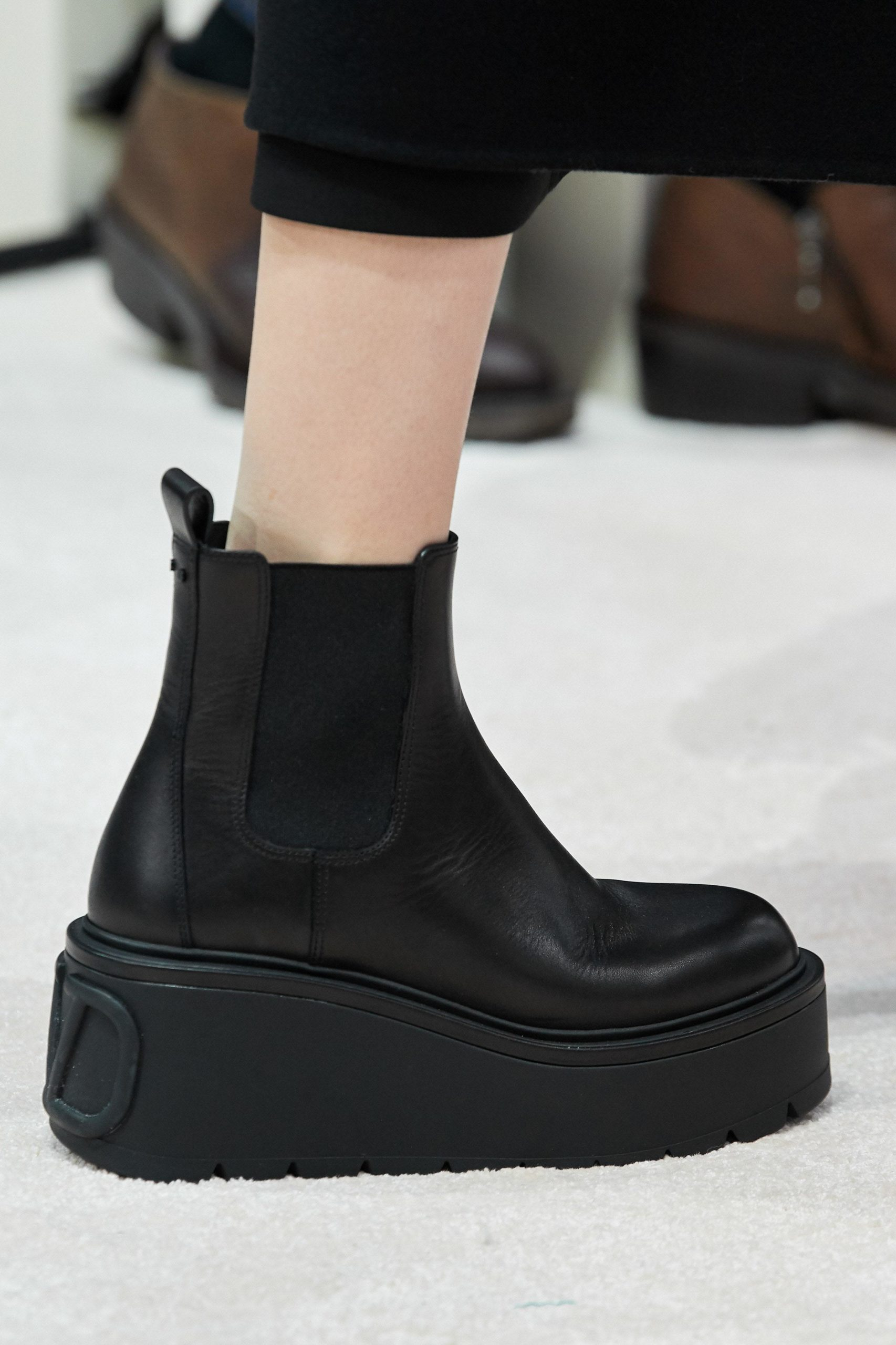 Valentino Fall 2020 trends runway coverage Ready To Wear Vogue boots