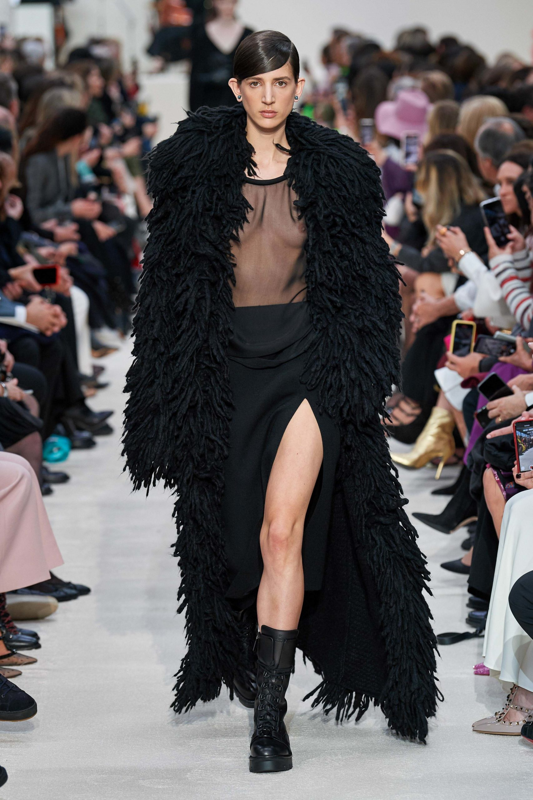 Valentino Fall 2020 trends runway coverage Ready To Wear Vogue shaggy